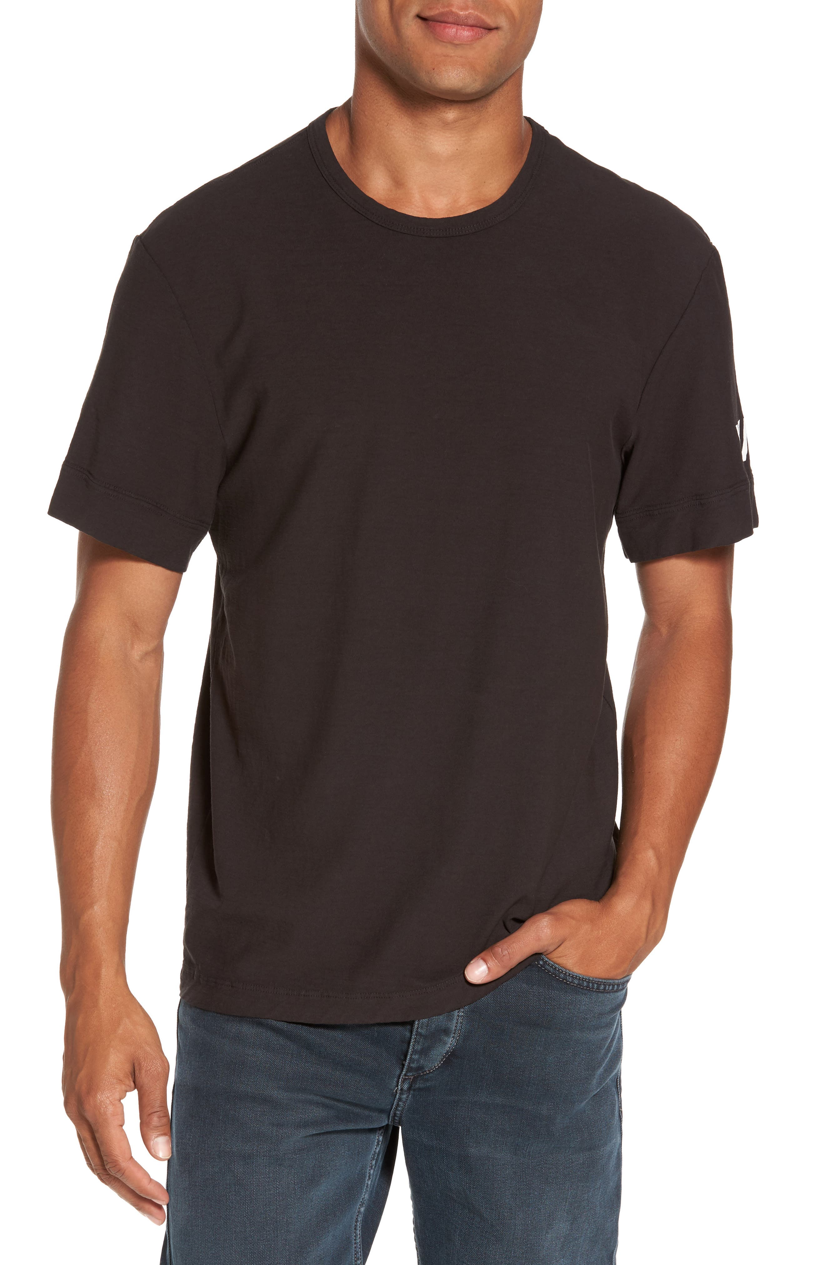 Reverse Tree Graphic T-Shirt,                             Main thumbnail 1, color,                             Carbon