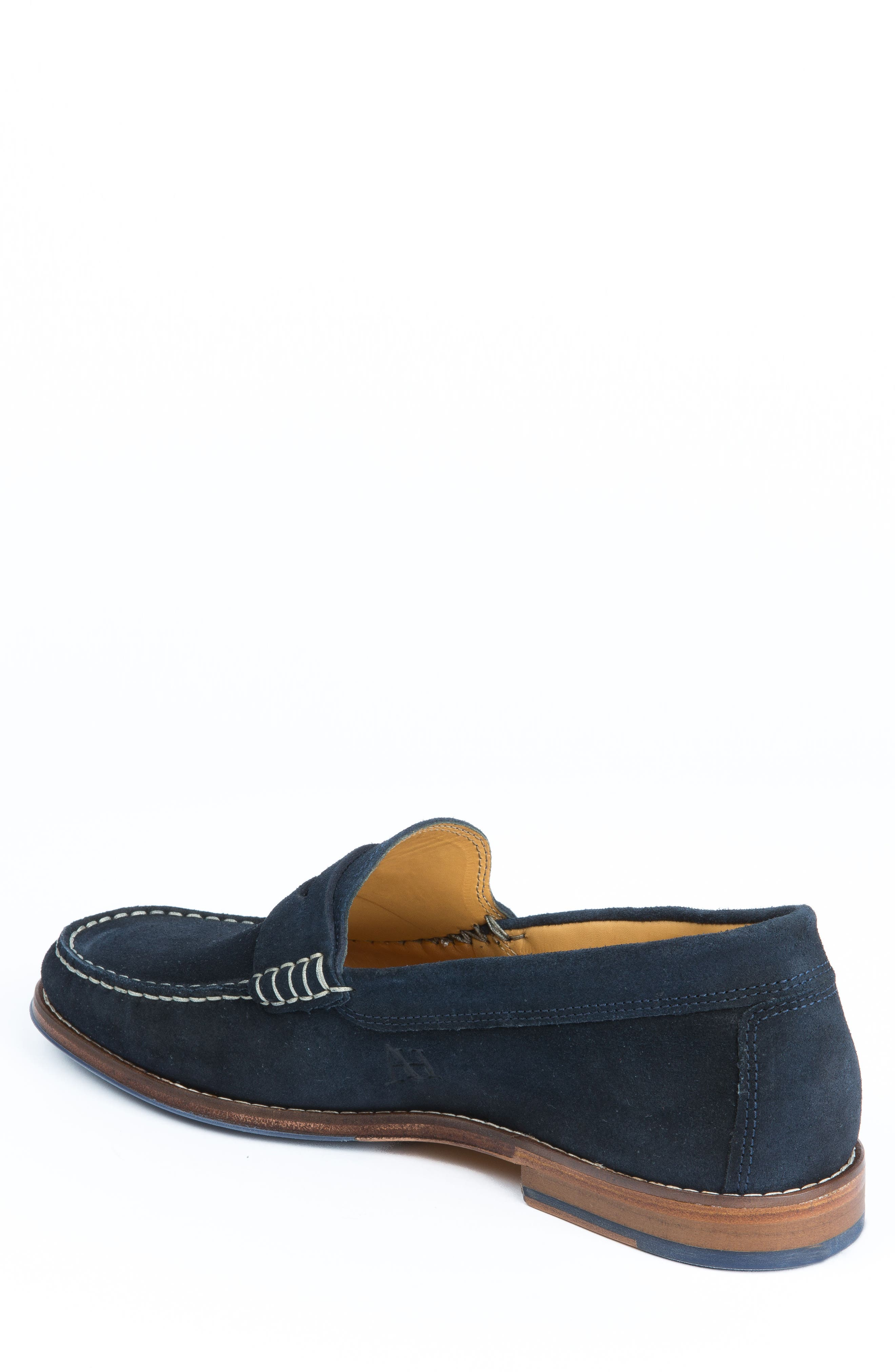 Ripleys Penny Loafer,                             Alternate thumbnail 2, color,                             Navy Suede