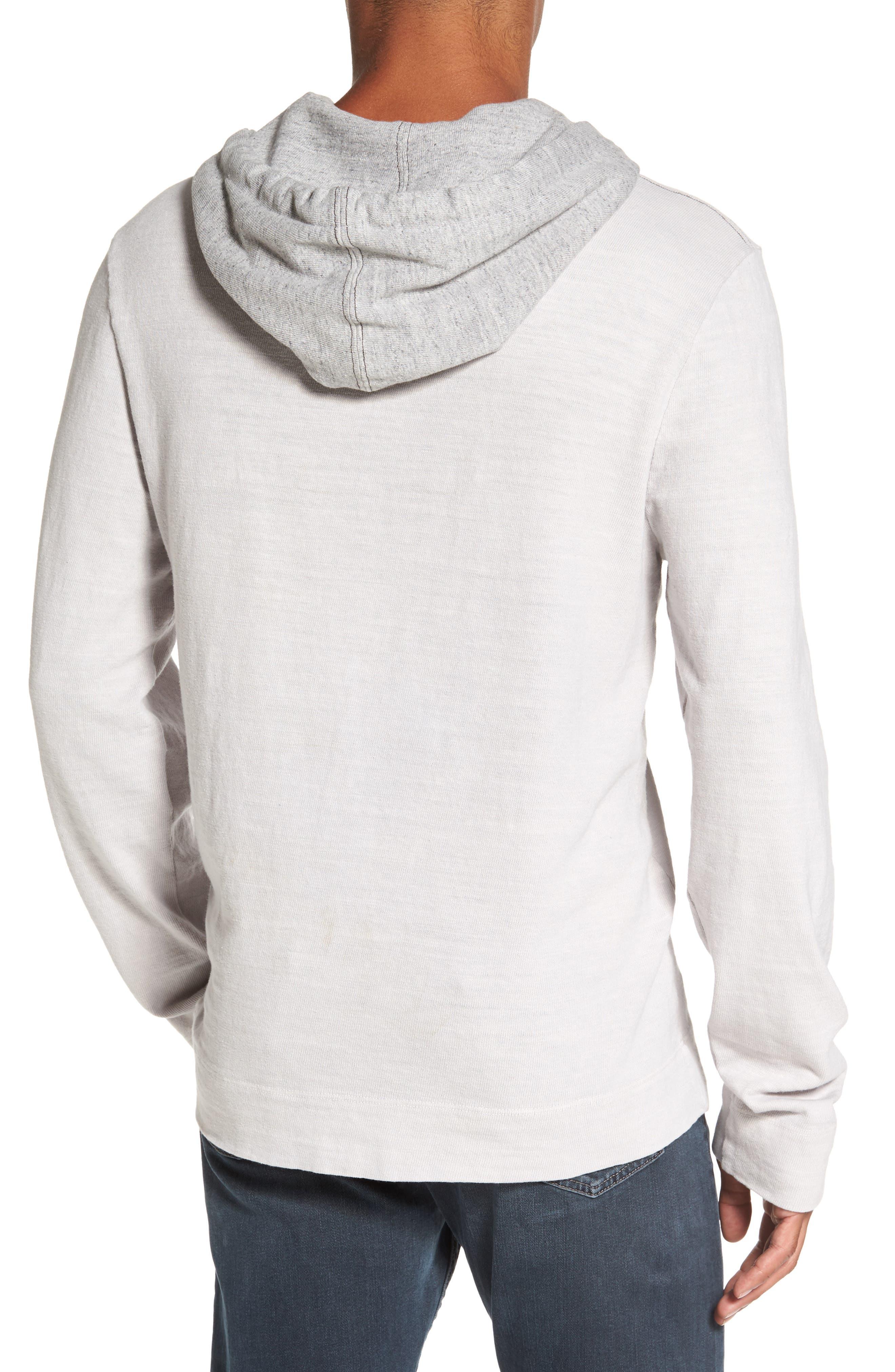 Standard Fit Pullover Hoodie,                             Alternate thumbnail 2, color,                             Concrete Dust Pigment