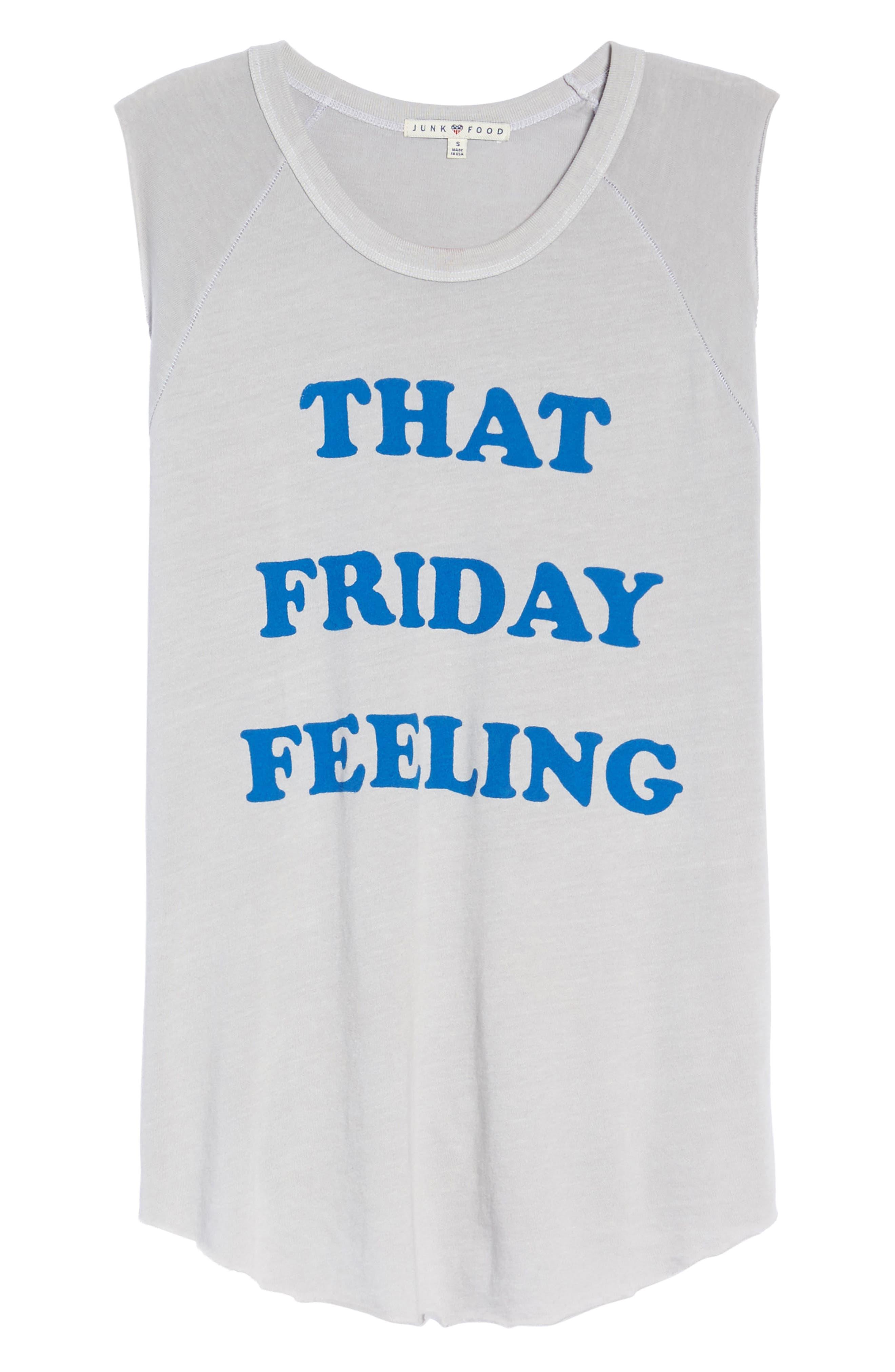 That Friday Feeling Tank,                             Alternate thumbnail 4, color,                             Lunar Rock