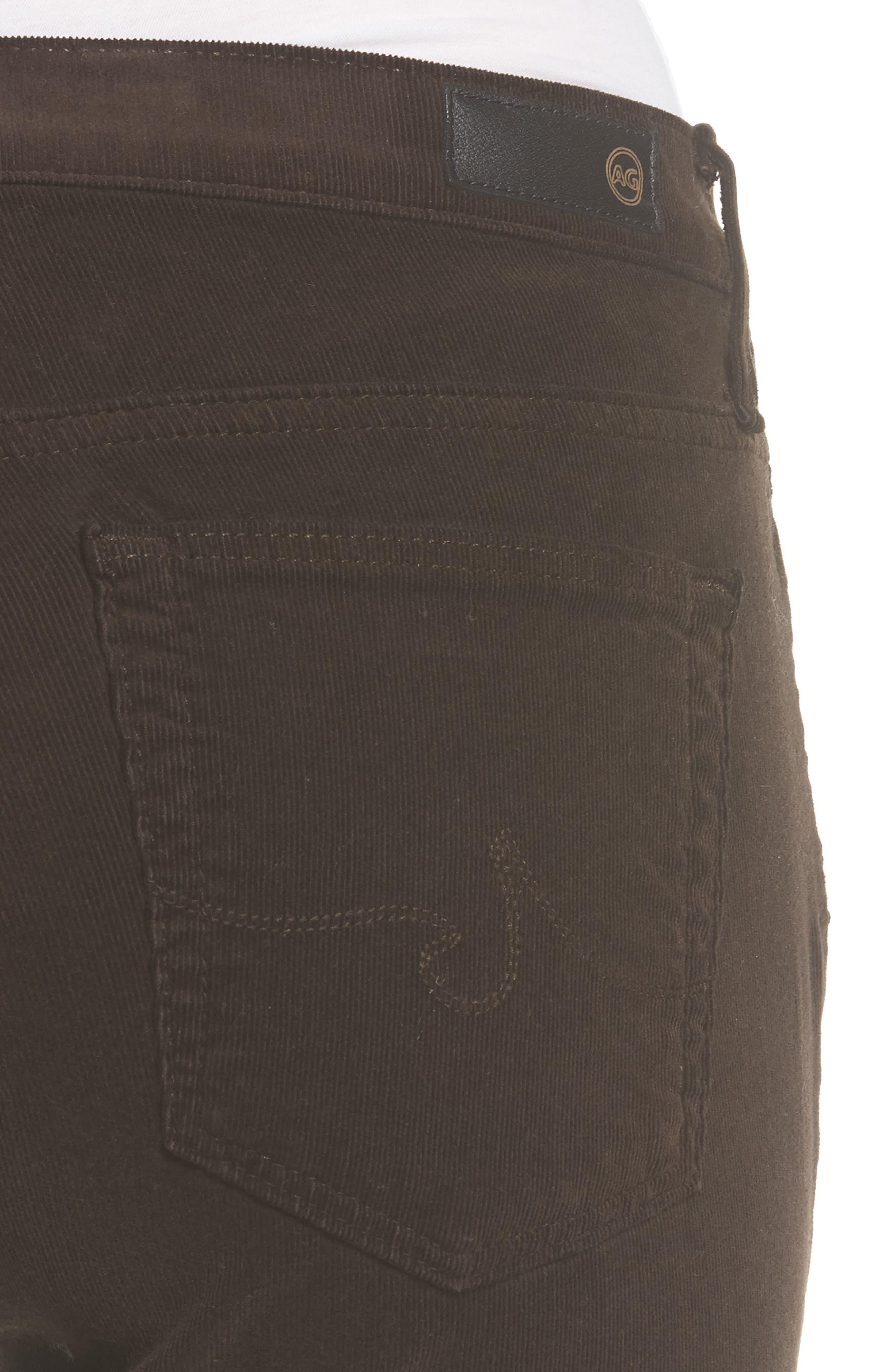 Alternate Image 4  - AG 'Prima' Corduroy Skinny Pants