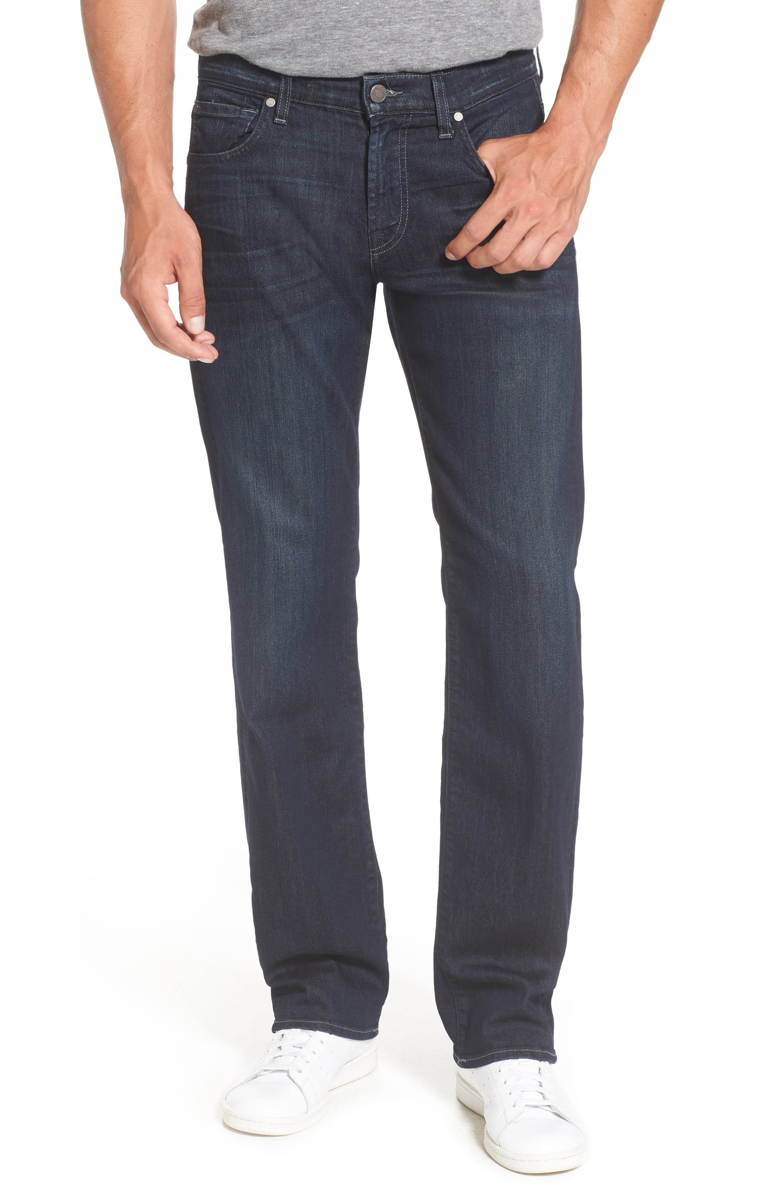 Alternate Image 1 Selected - 7 For All Mankind® Airweft - Austyn Relaxed Straight Leg Jeans (Perennial)