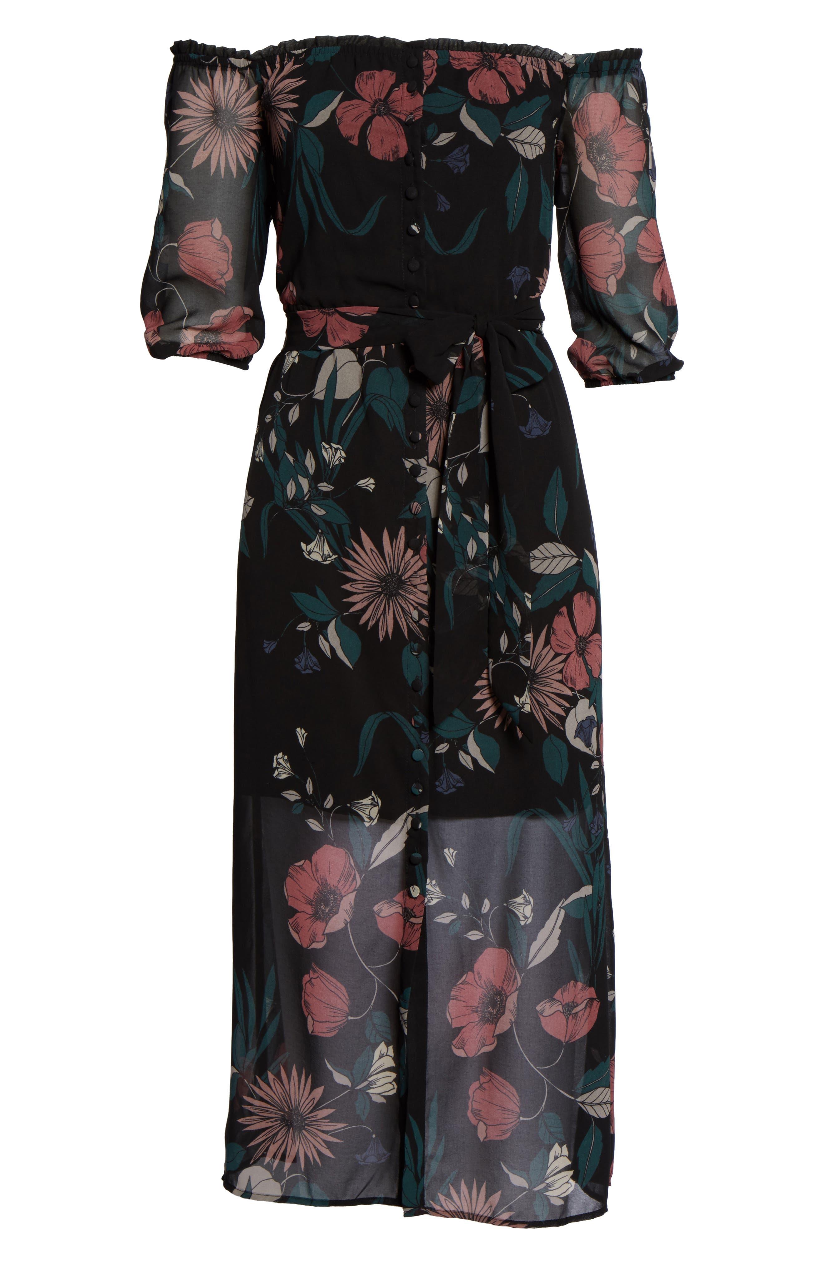 Alternate Image 6  - Bardot Camilla Midi Dress