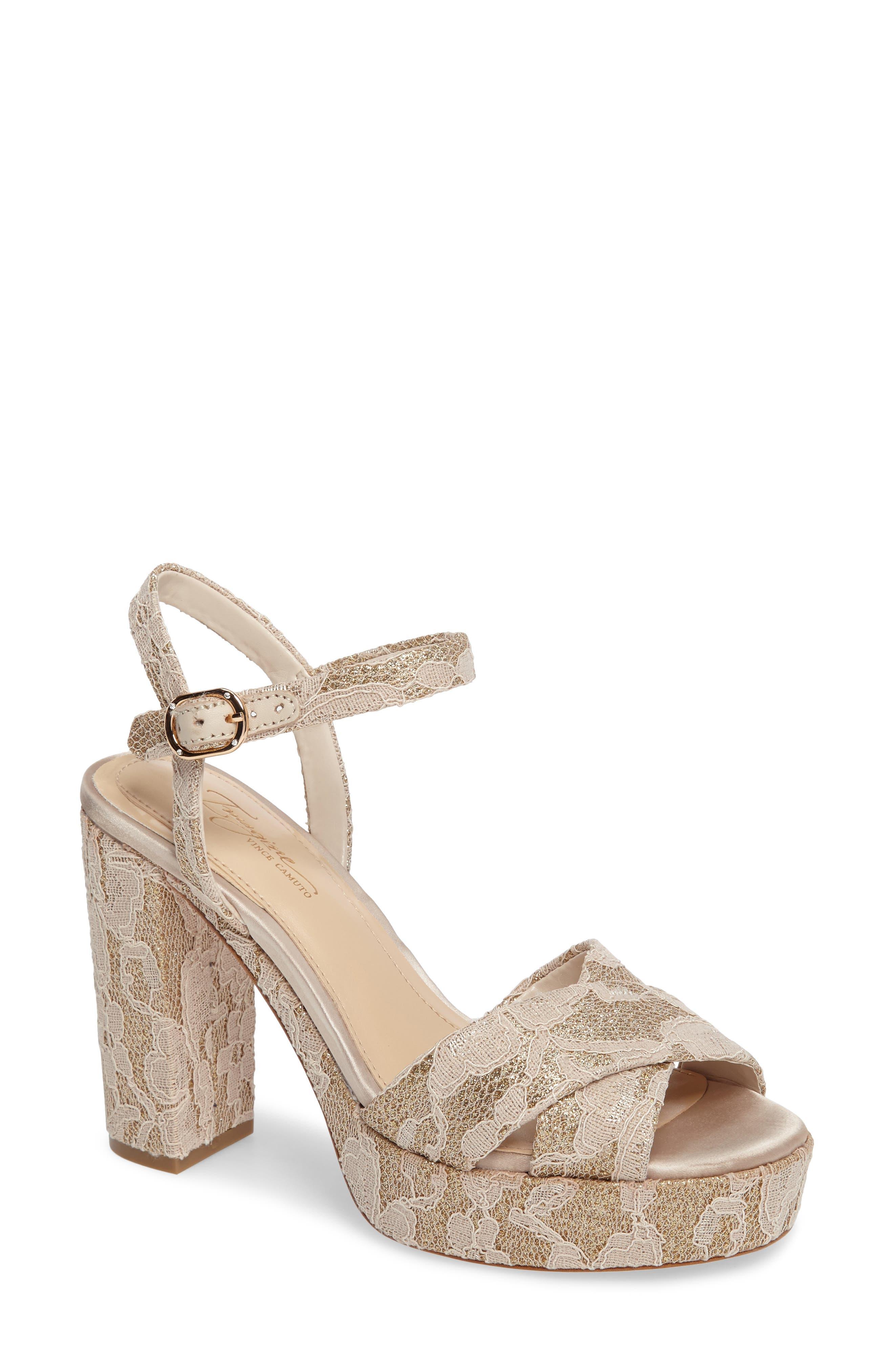 Alternate Image 1 Selected - Imagine by Vince Camuto 'Valora' Platform Sandal (Women)