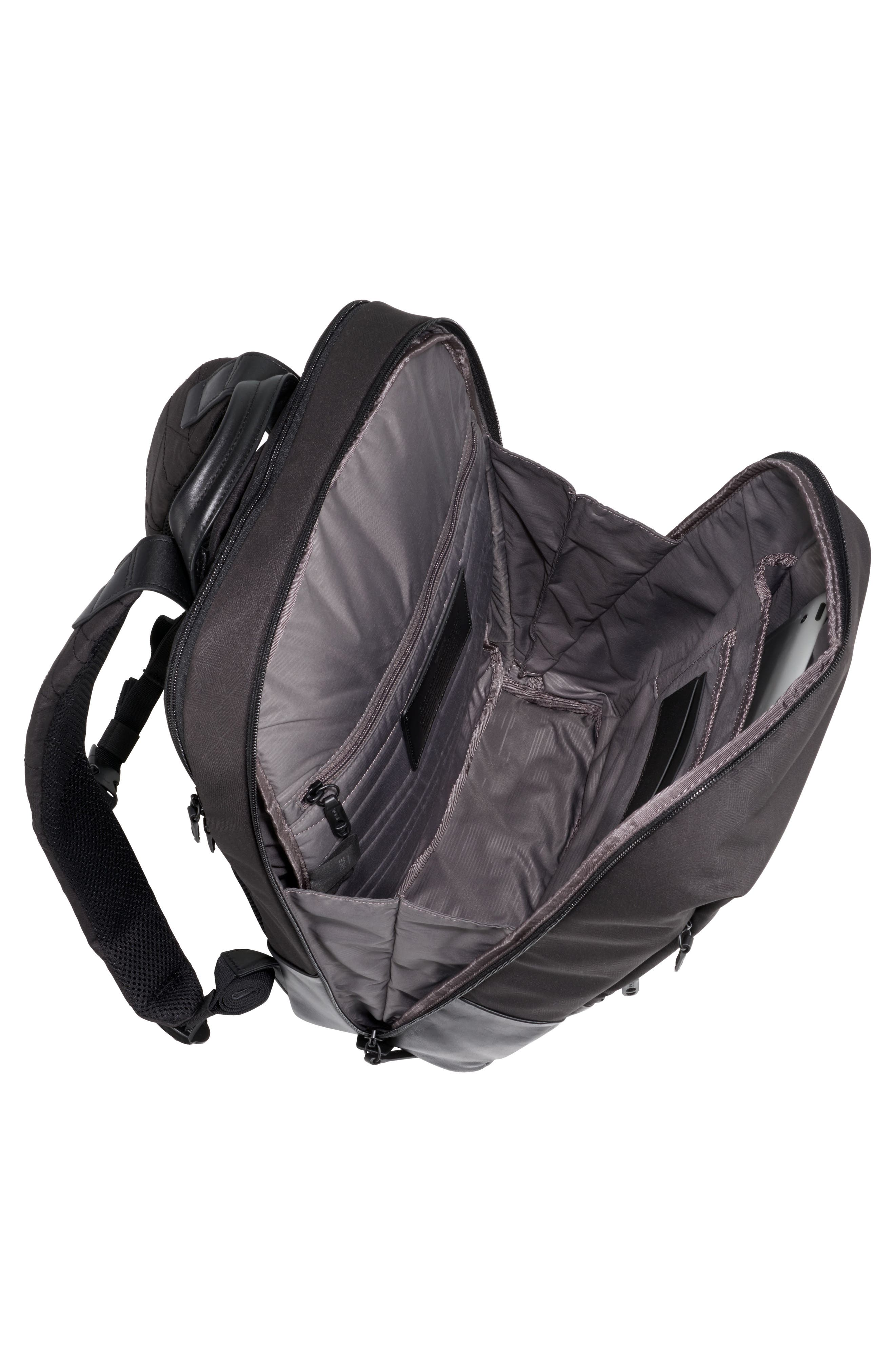 Butler Backpack,                             Alternate thumbnail 3, color,                             Black