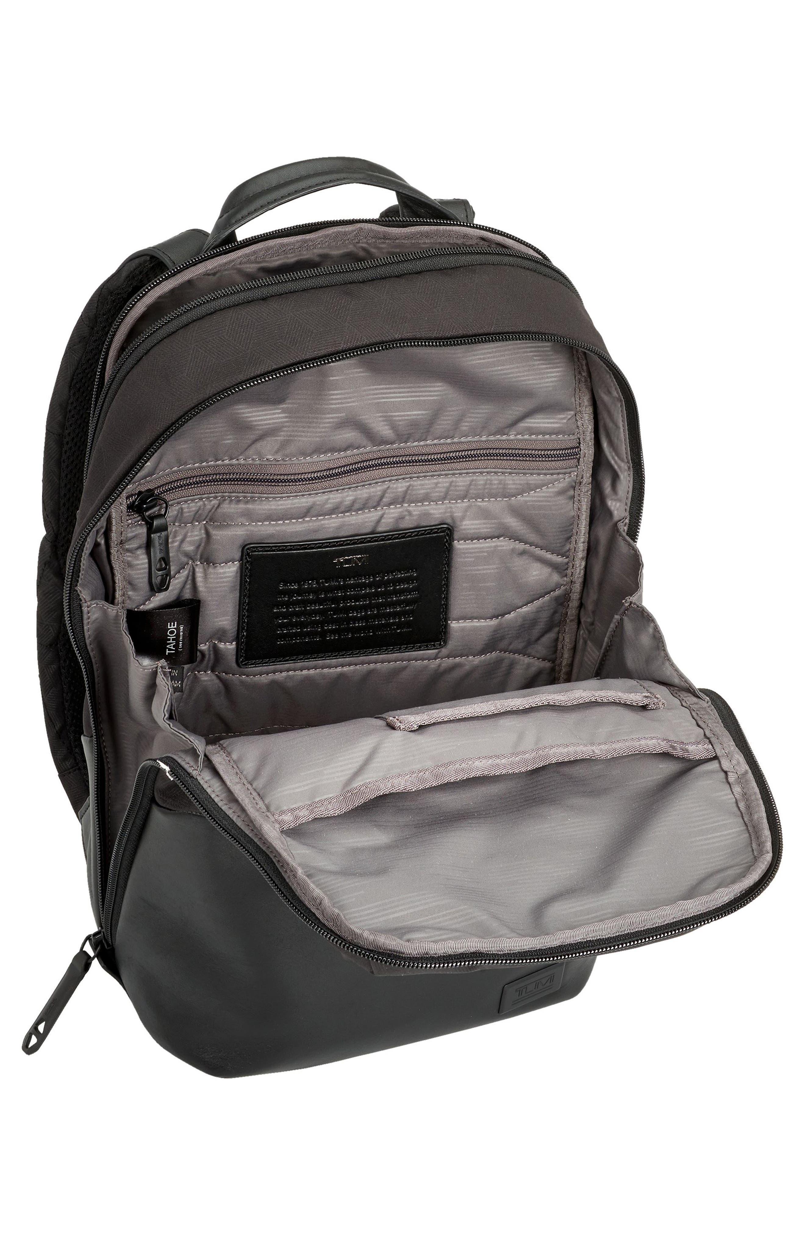Tahoe Elwood Backpack,                             Alternate thumbnail 3, color,                             Black