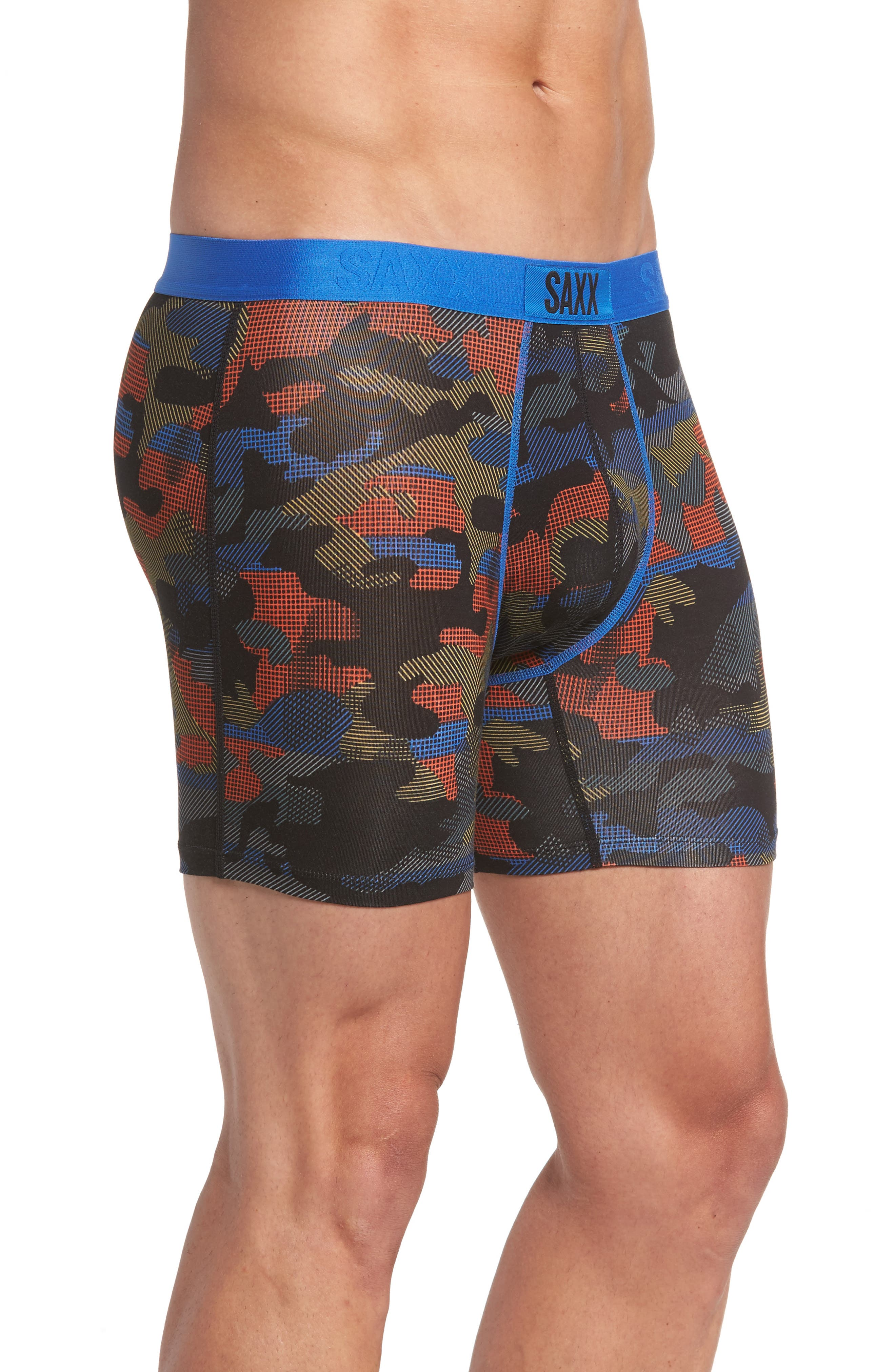 Vibe Modern Fit Camo Boxer Briefs,                             Alternate thumbnail 3, color,                             Cross Road Camo