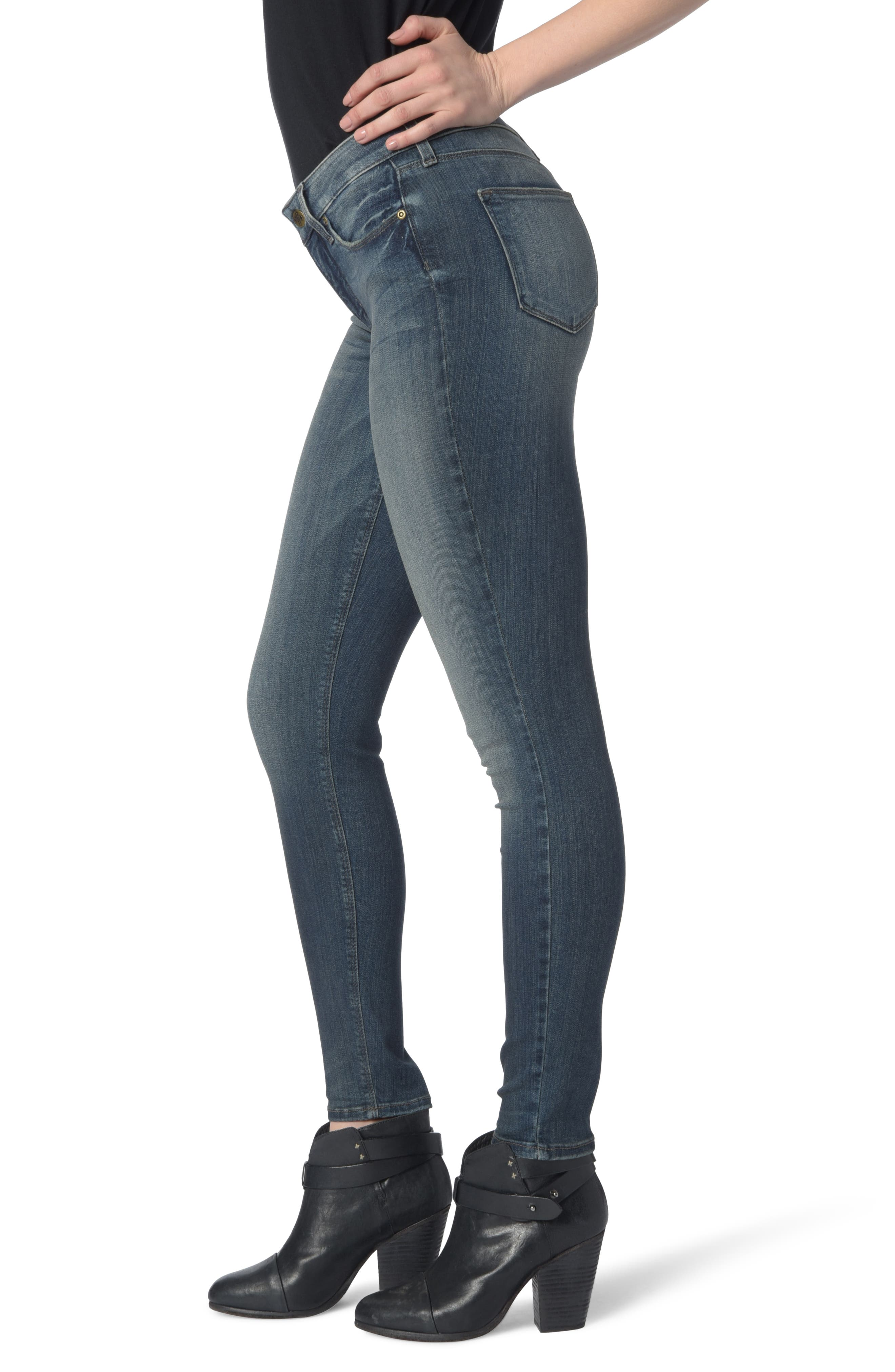 Dylan Skinny Ankle Jeans,                             Alternate thumbnail 3, color,                             Axiom