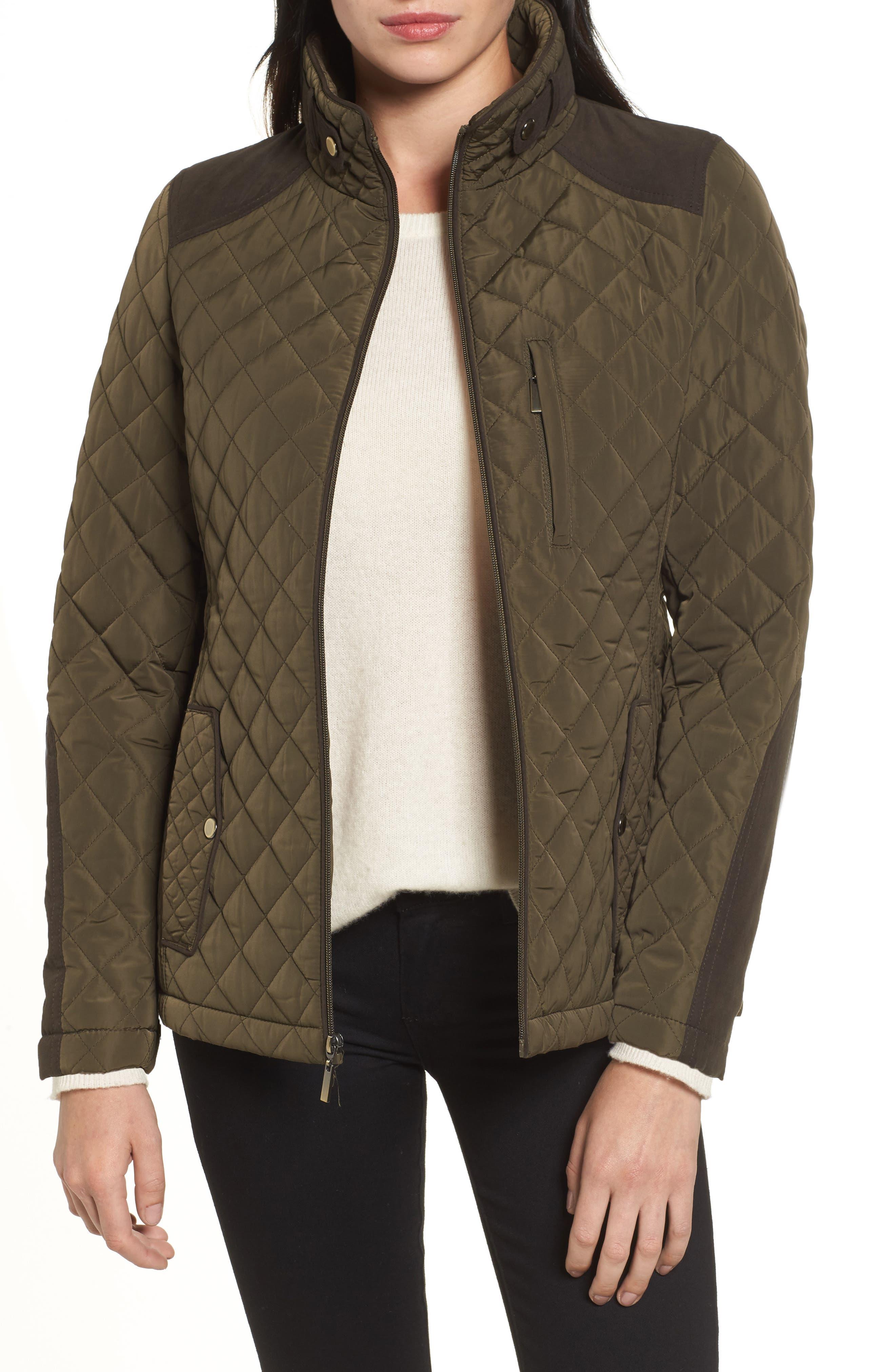 Insulated Jacket,                             Main thumbnail 1, color,                             Fatigue