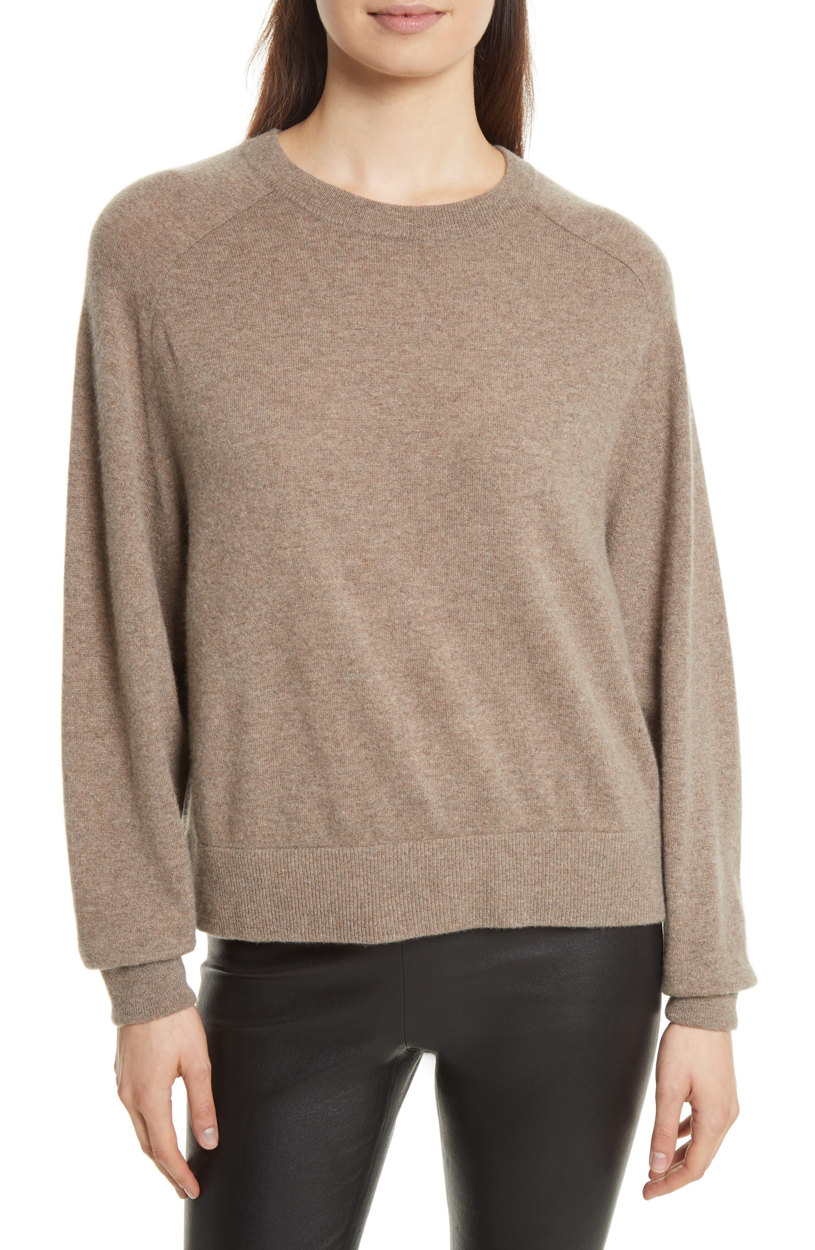 Vince Saddle Sleeve Cashmere Sweater | Nordstrom