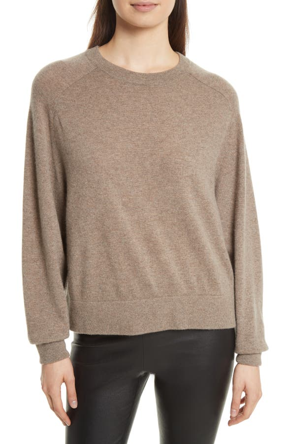 Vince Saddle Sleeve Cashmere Sweater | Nordstrom