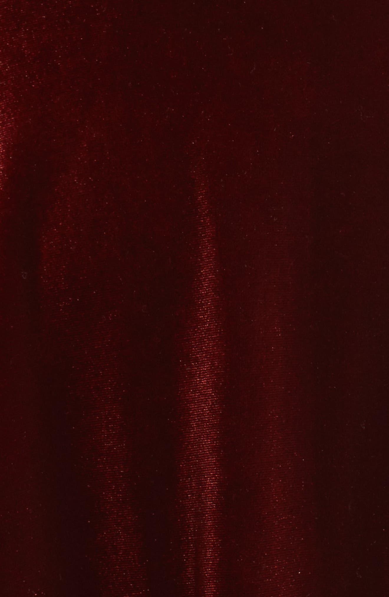 Alternate Image 6  - Ali & Jay Velvet Midi Dress