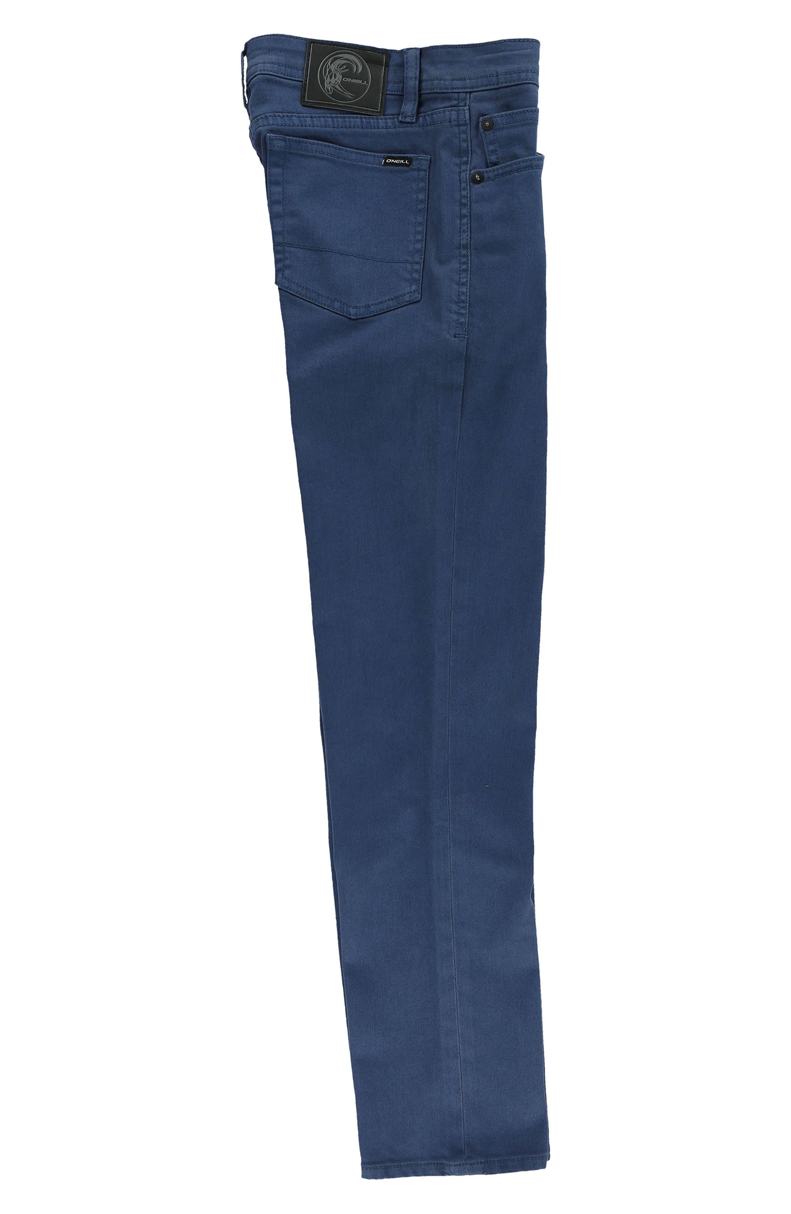 Alternate Image 3  - O'Neill The Slim Twill Pants (Big Boys)