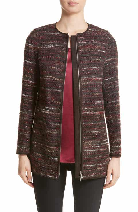 Lafayette 148 New York Pria Taverna Tweed Jacket (Nordstrom Exclusive)