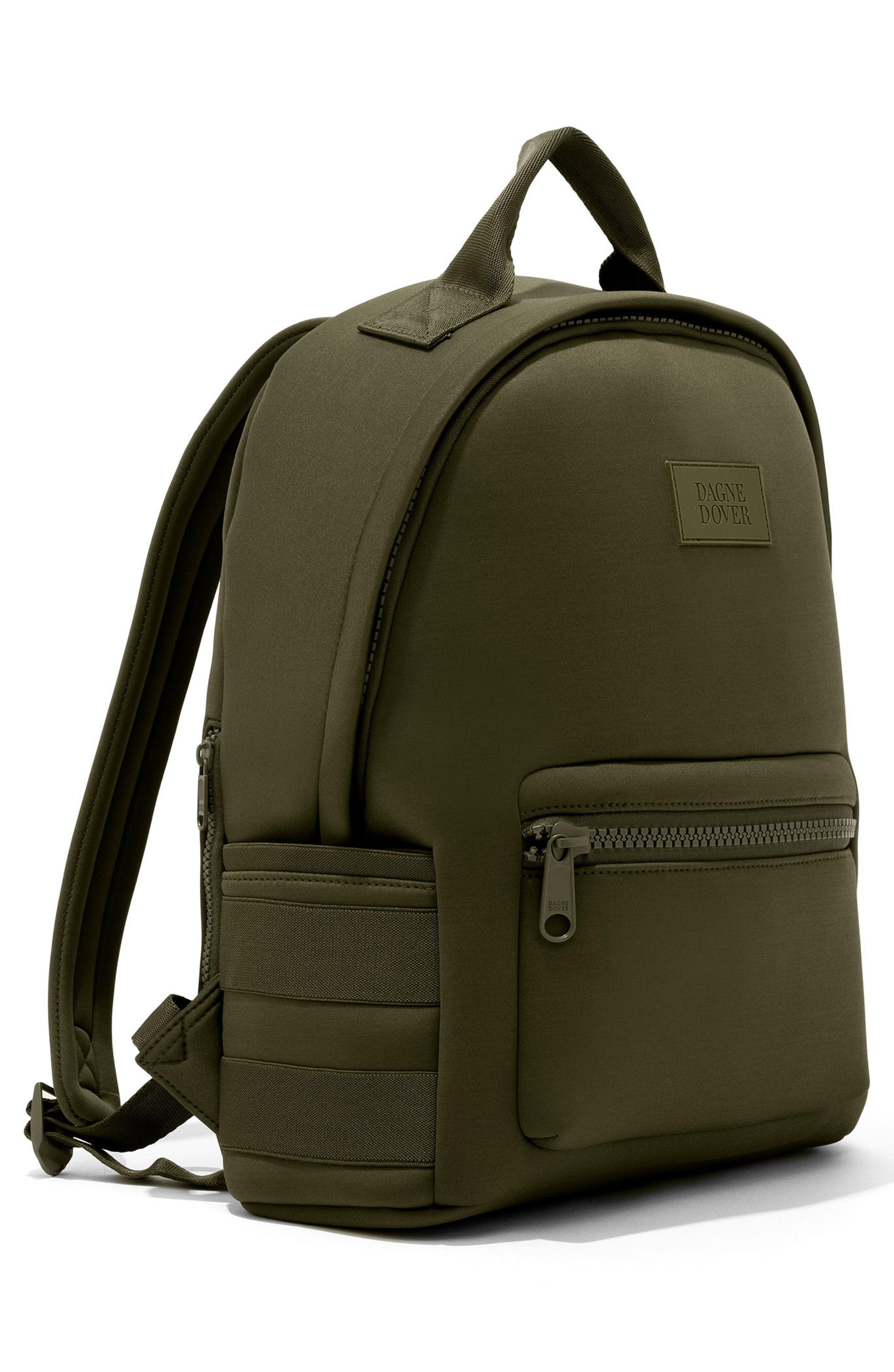 365 Dakota Neoprene Backpack,                             Alternate thumbnail 5, color,                             Dark Moss
