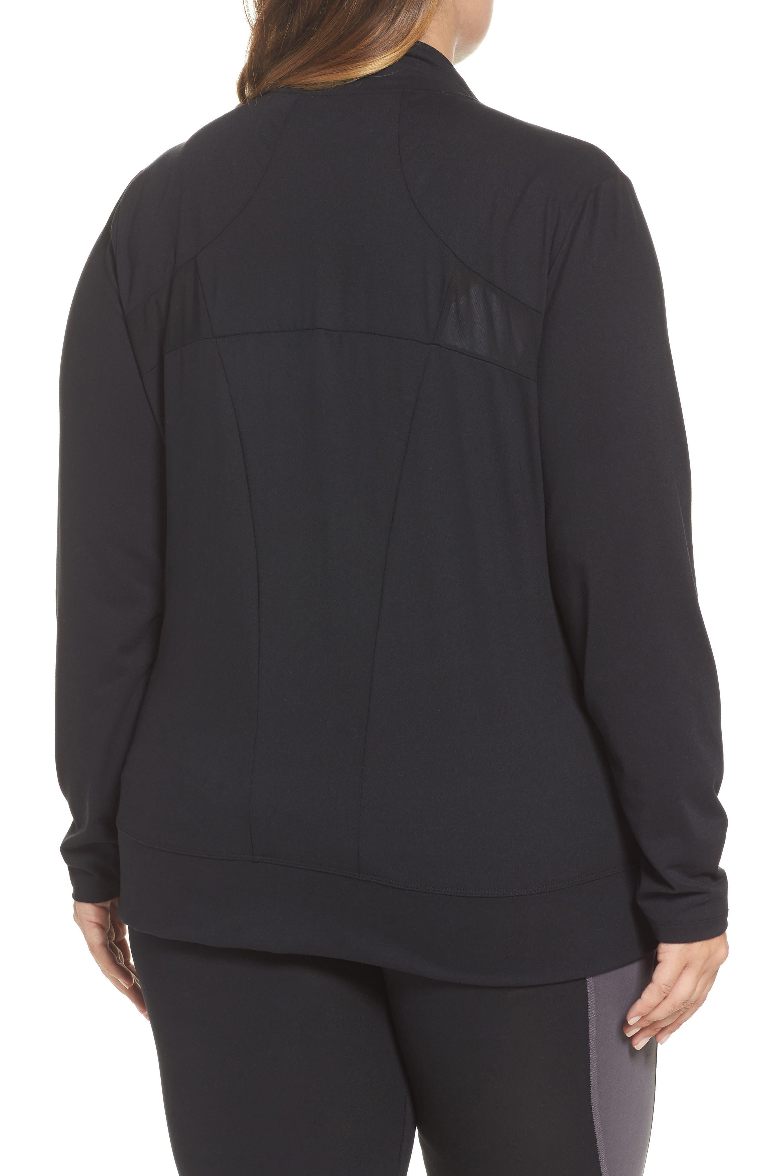 Alternate Image 2  - Marika Curves Adrenaline Jacket (Plus Size)