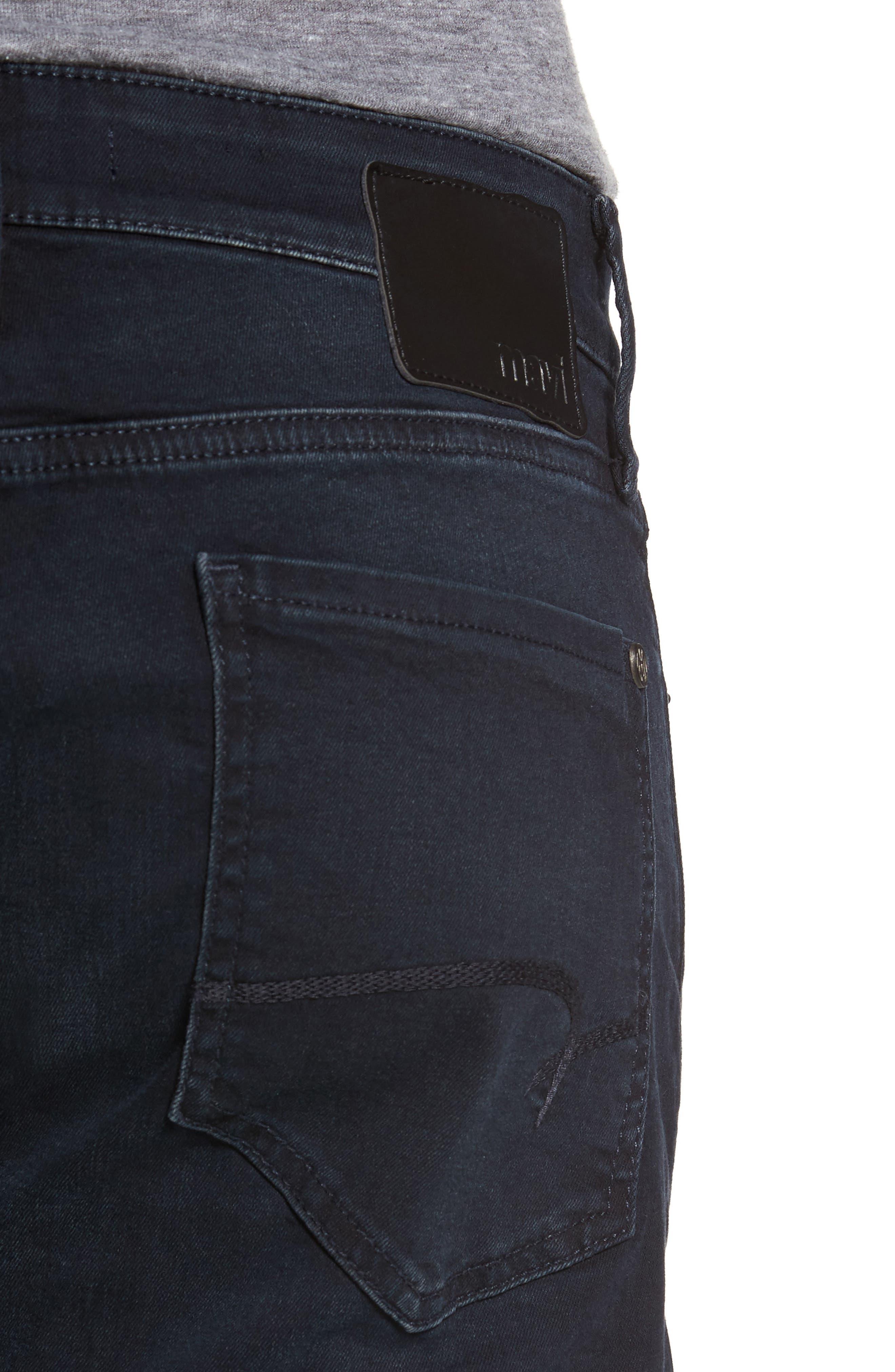 Alternate Image 4  - Mavi Jeans Zach Straight Leg Jeans (Brushed Williamsburg)