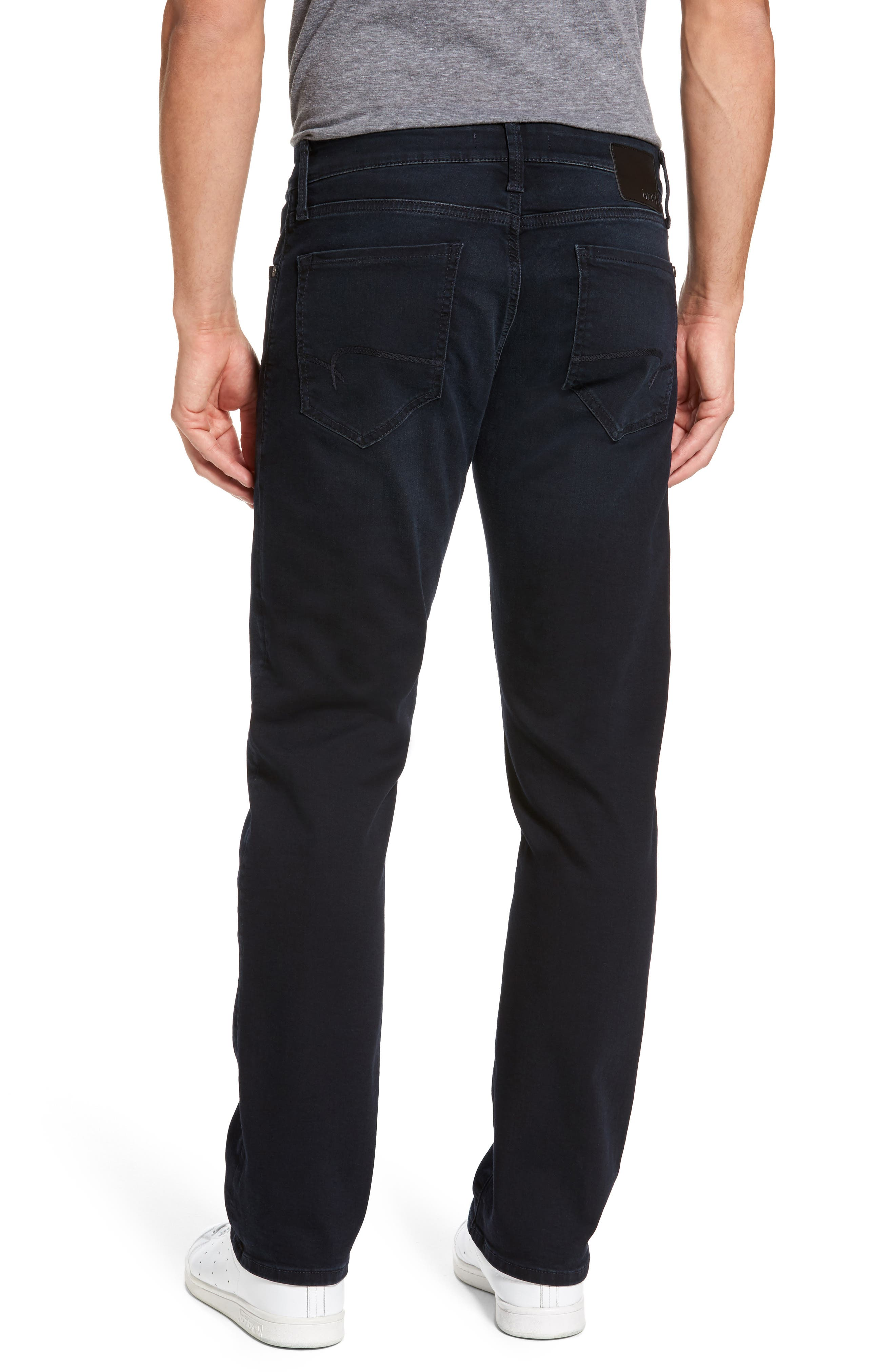 Alternate Image 2  - Mavi Jeans Zach Straight Leg Jeans (Brushed Williamsburg)