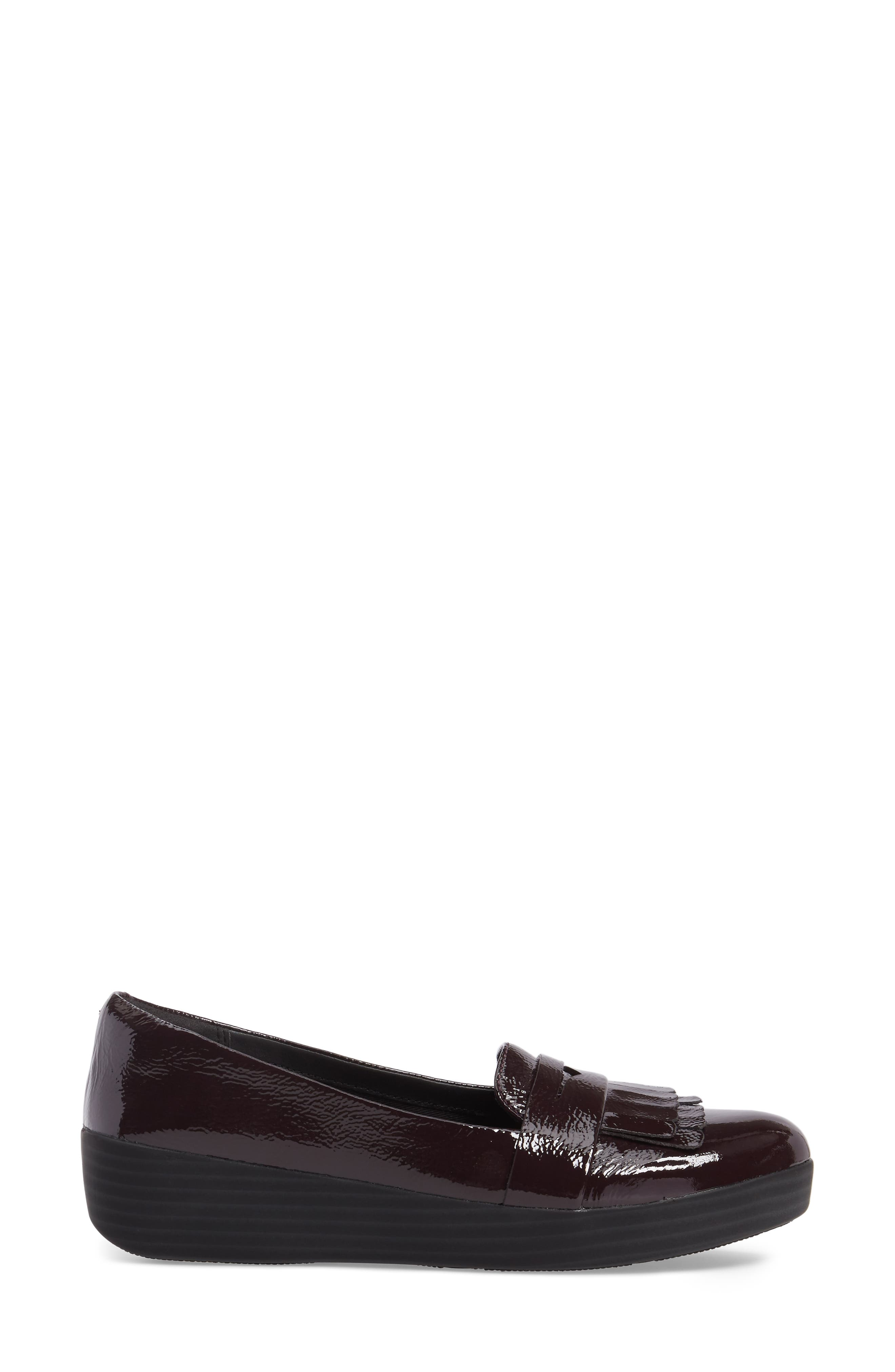 Alternate Image 3  - FitFlop™ Fringey Sneakerloafer Slip-On (Women)