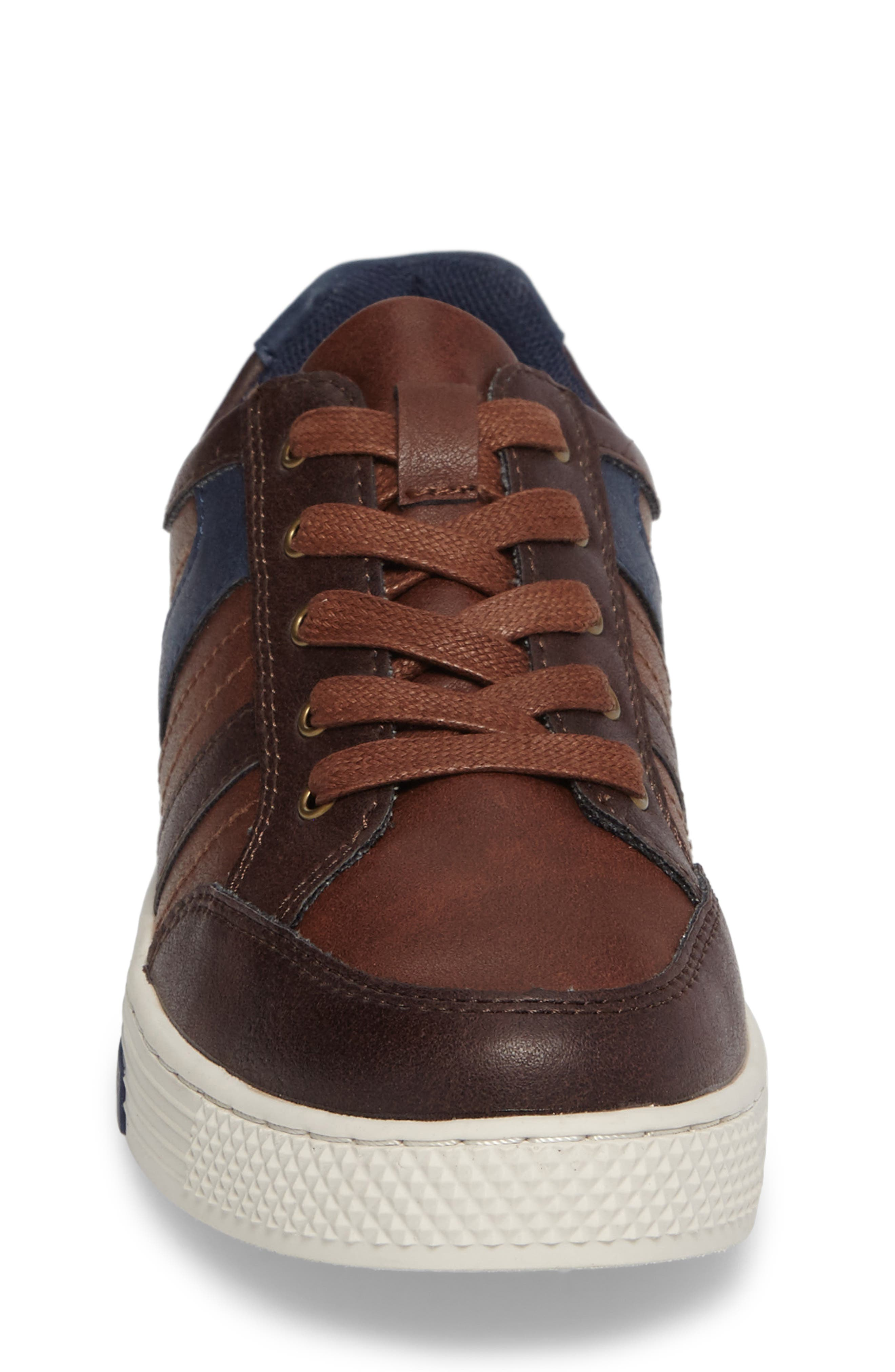 Trakk Sneaker,                             Alternate thumbnail 4, color,                             Brown Multi