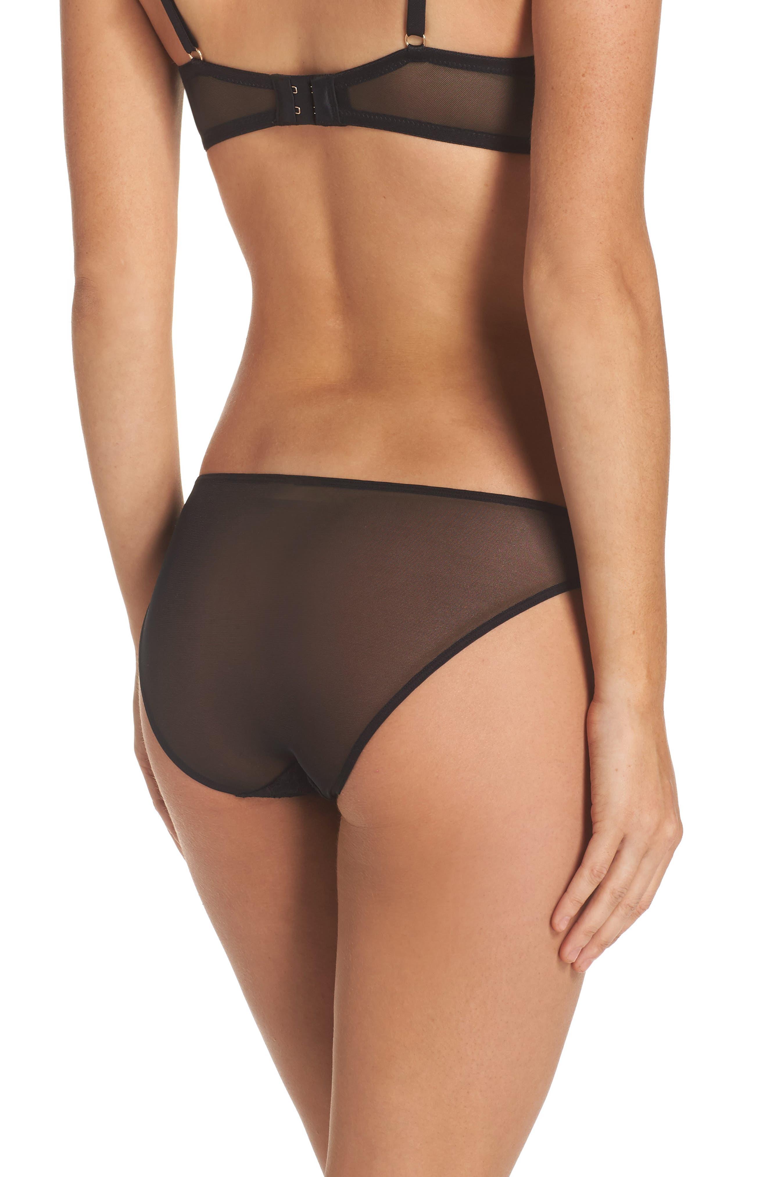 Lorelai Bikini,                             Alternate thumbnail 2, color,                             Black