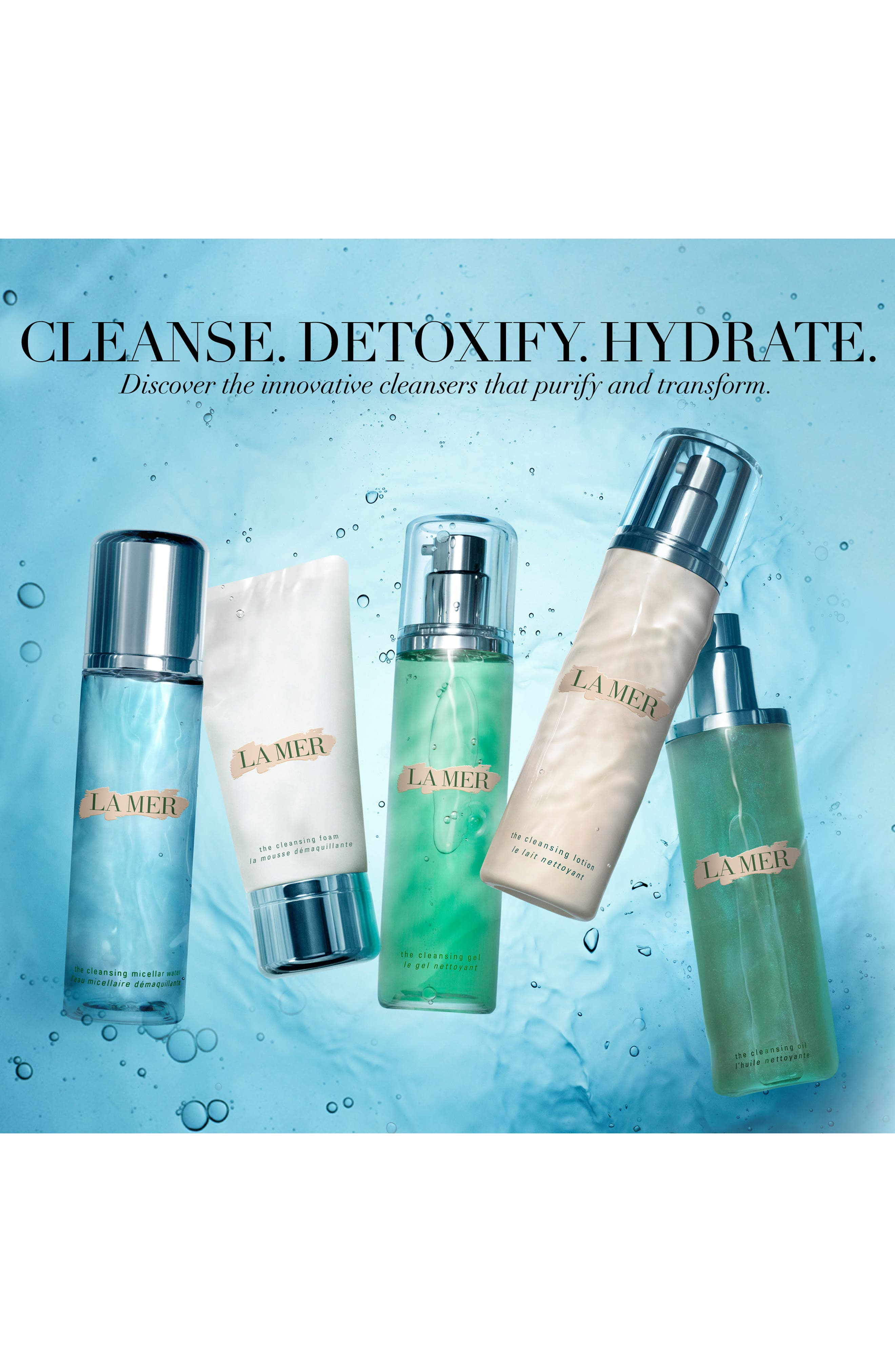 La Mer The Cleansers