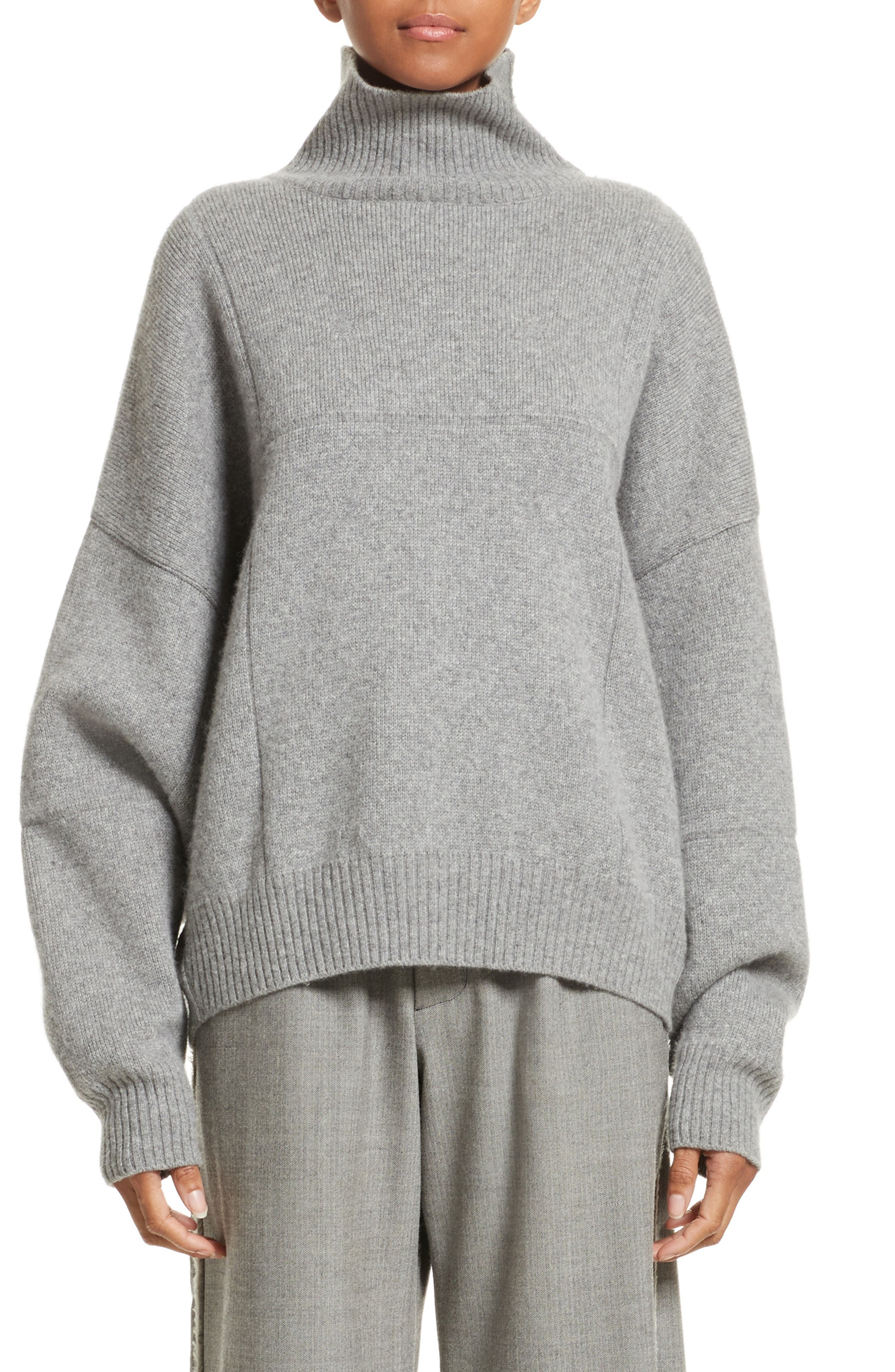 Alternate Image 1 Selected - Vejas Concrete Wool Turtleneck Sweater