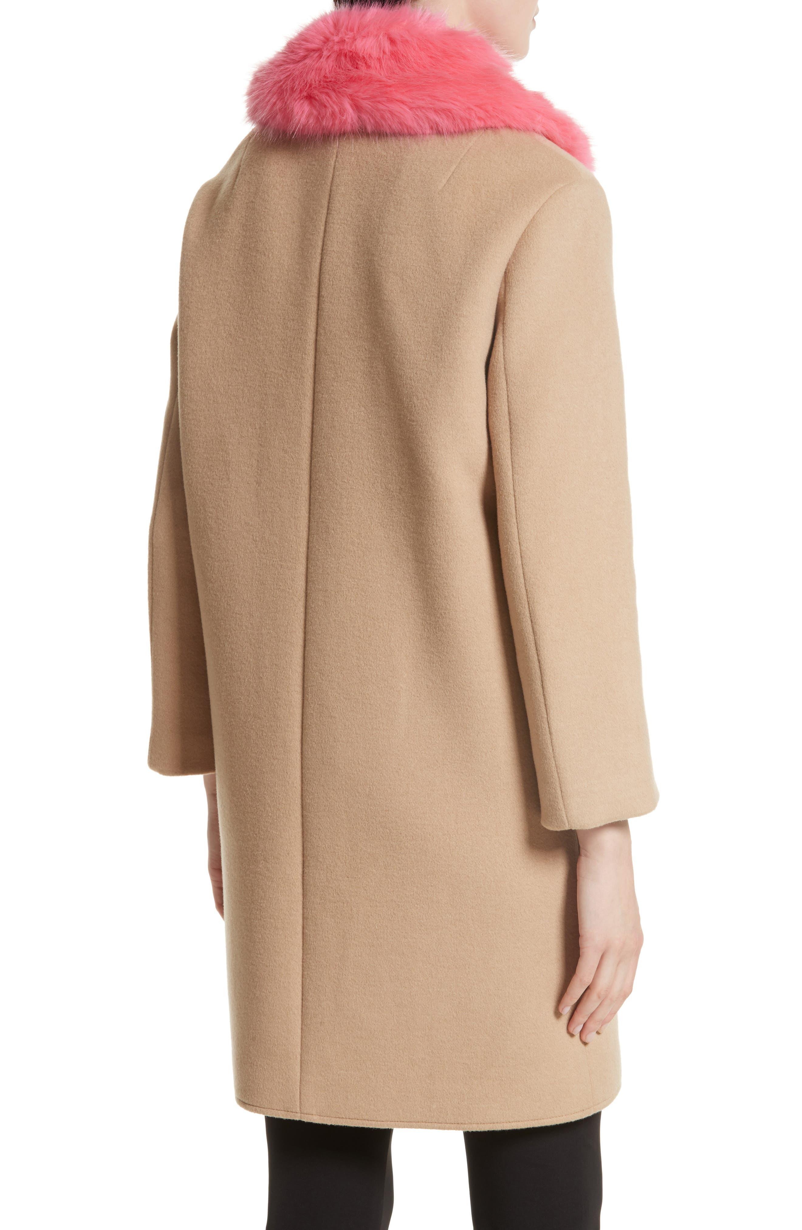 Alternate Image 2  - Rebecca Minkoff Allegra Wool Blend Coat