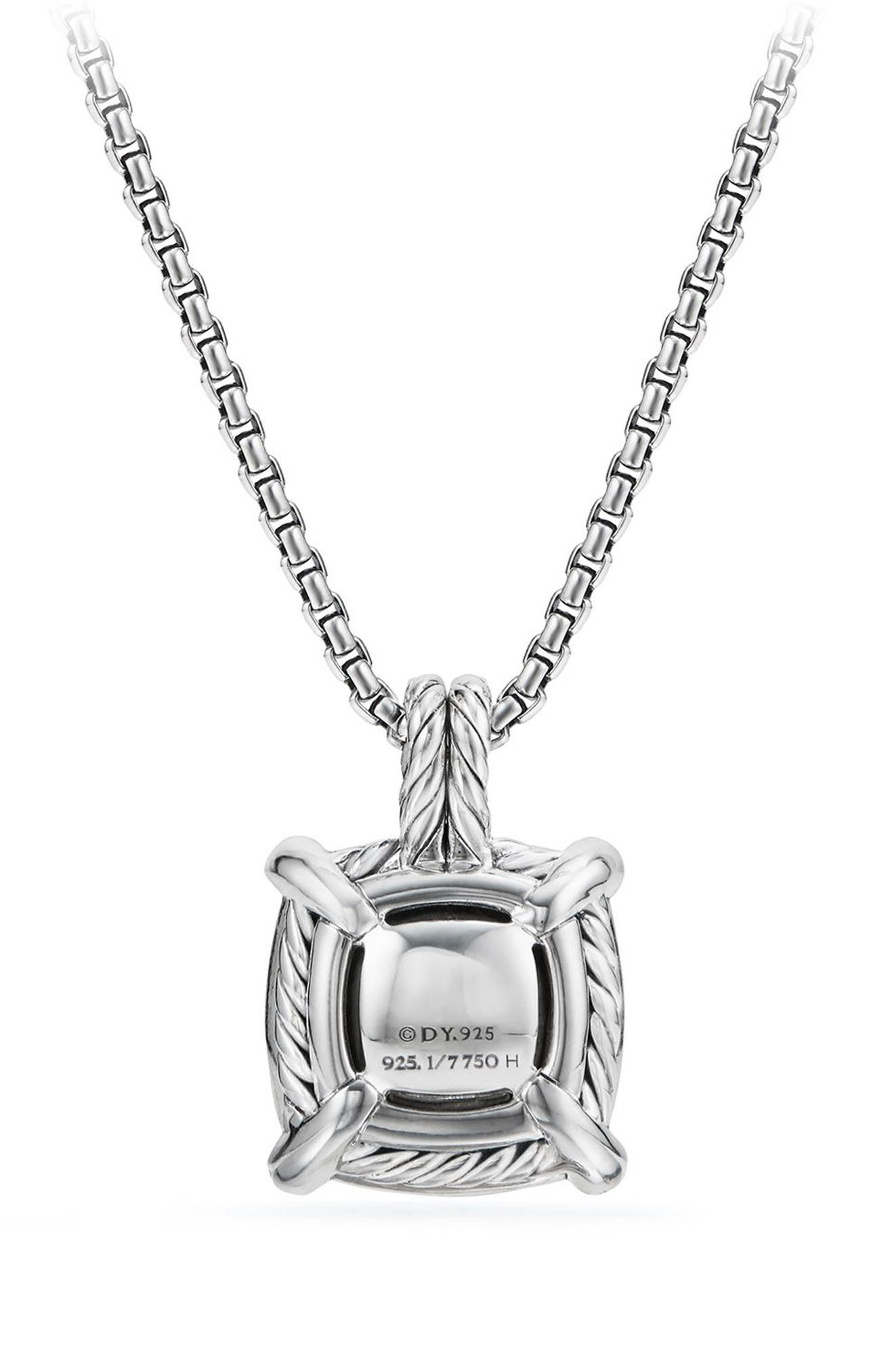 Alternate Image 2  - David Yurman Châtelaine Pendant Necklace with Diamonds