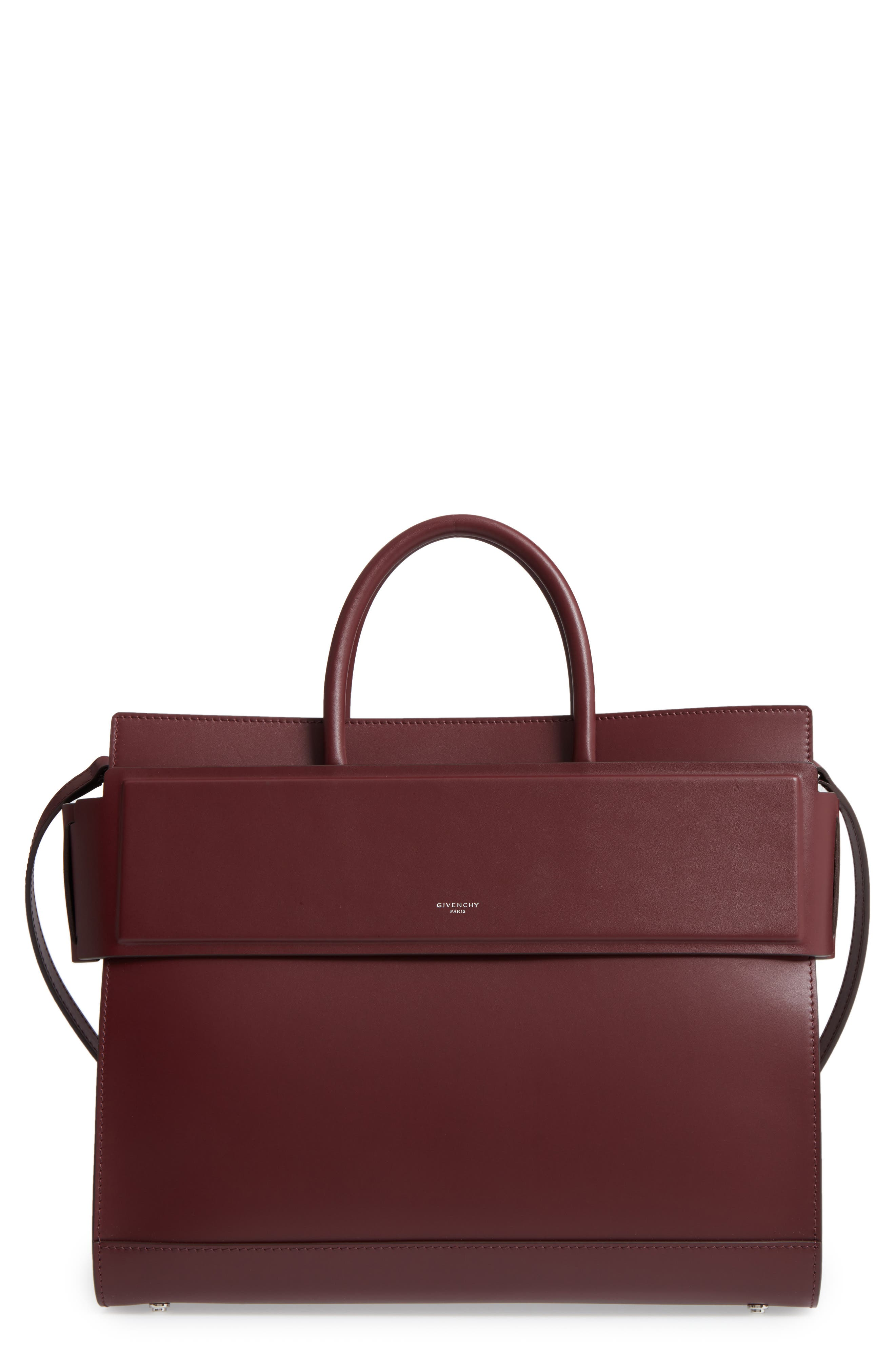 Givenchy Horizon Calfskin Leather Tote