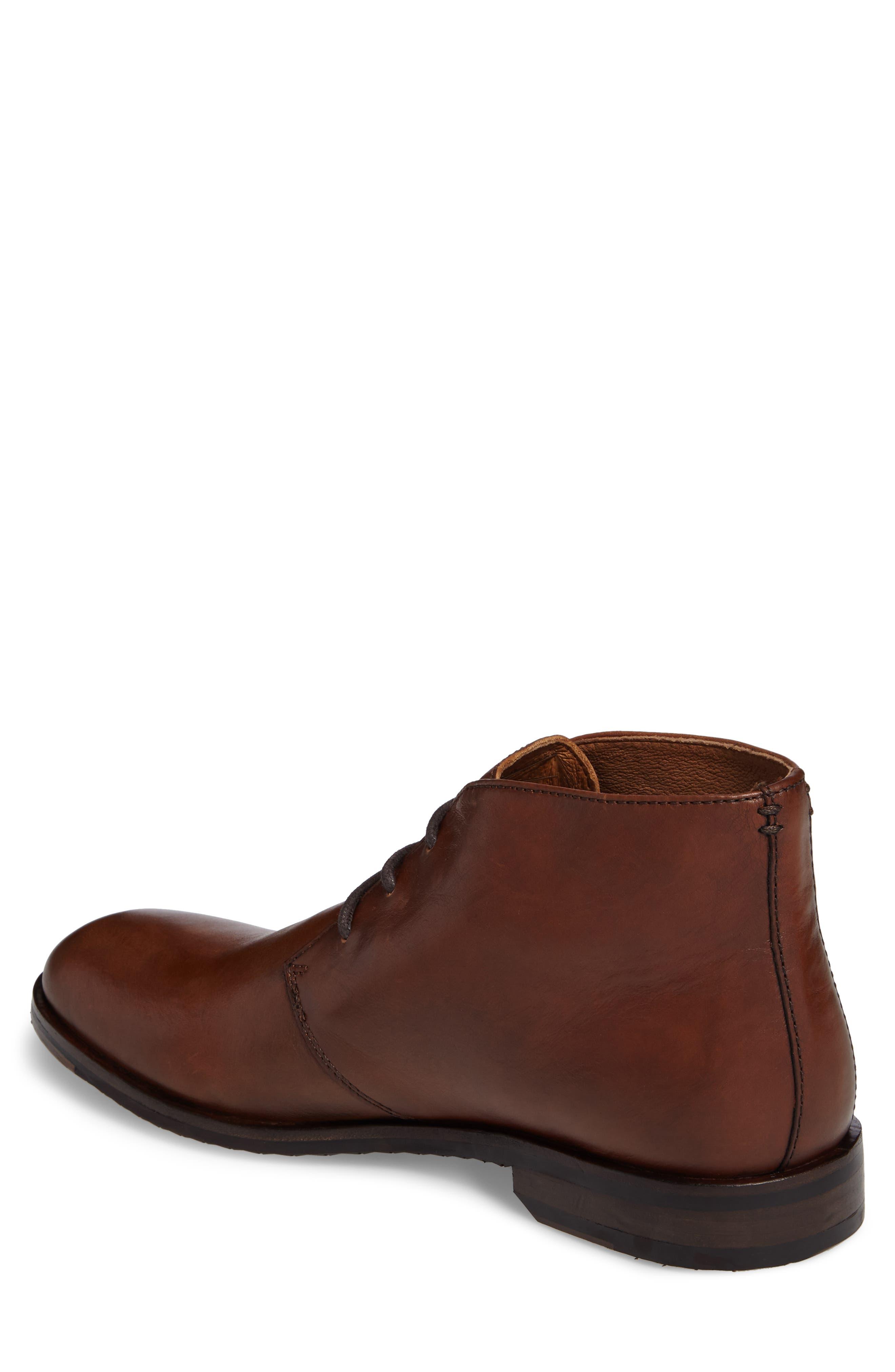 Sam Chukka Boot,                             Alternate thumbnail 2, color,                             Cognac Leather