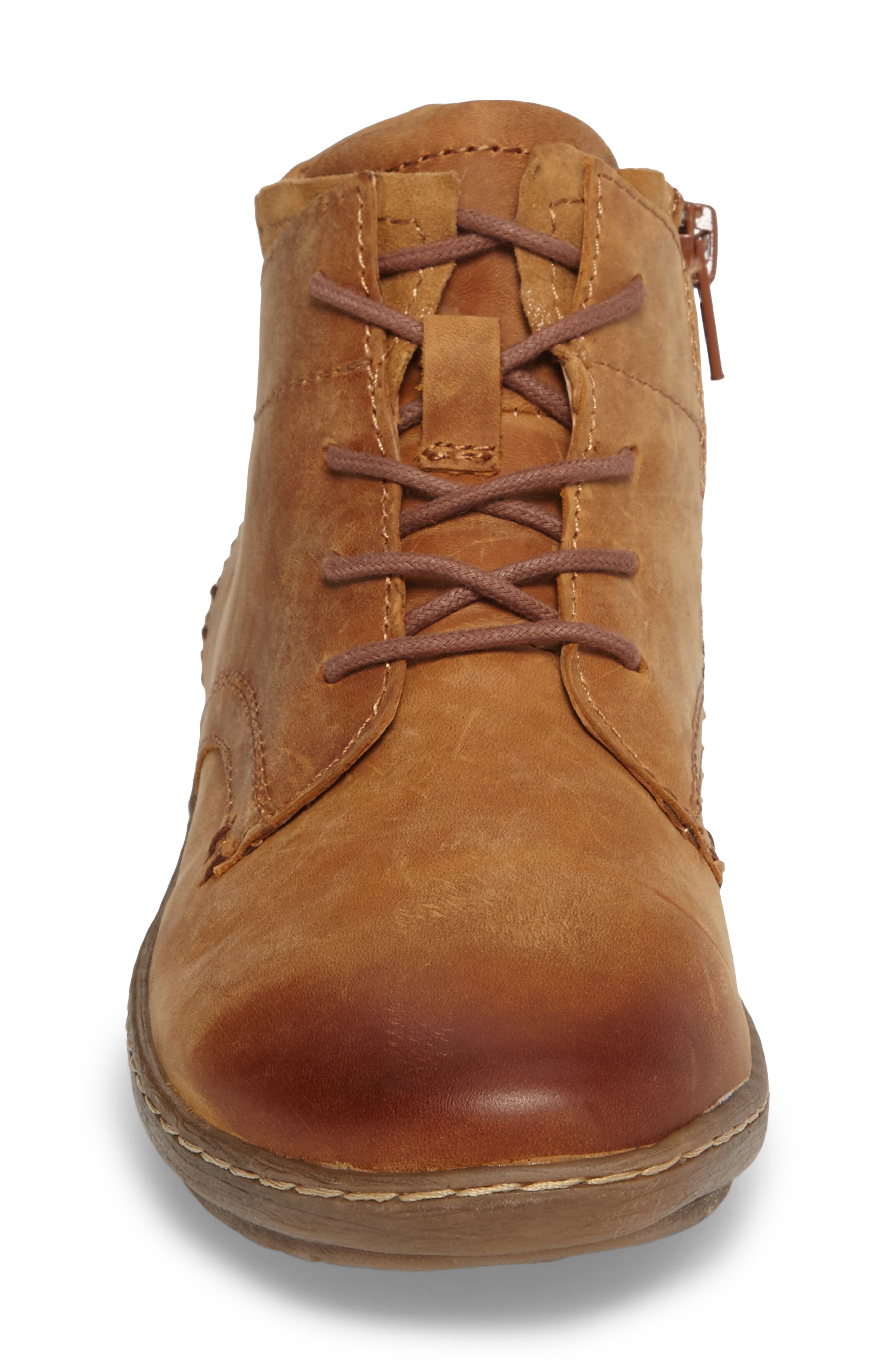 Cascade Boot,                             Alternate thumbnail 4, color,                             Almond Tan Leather