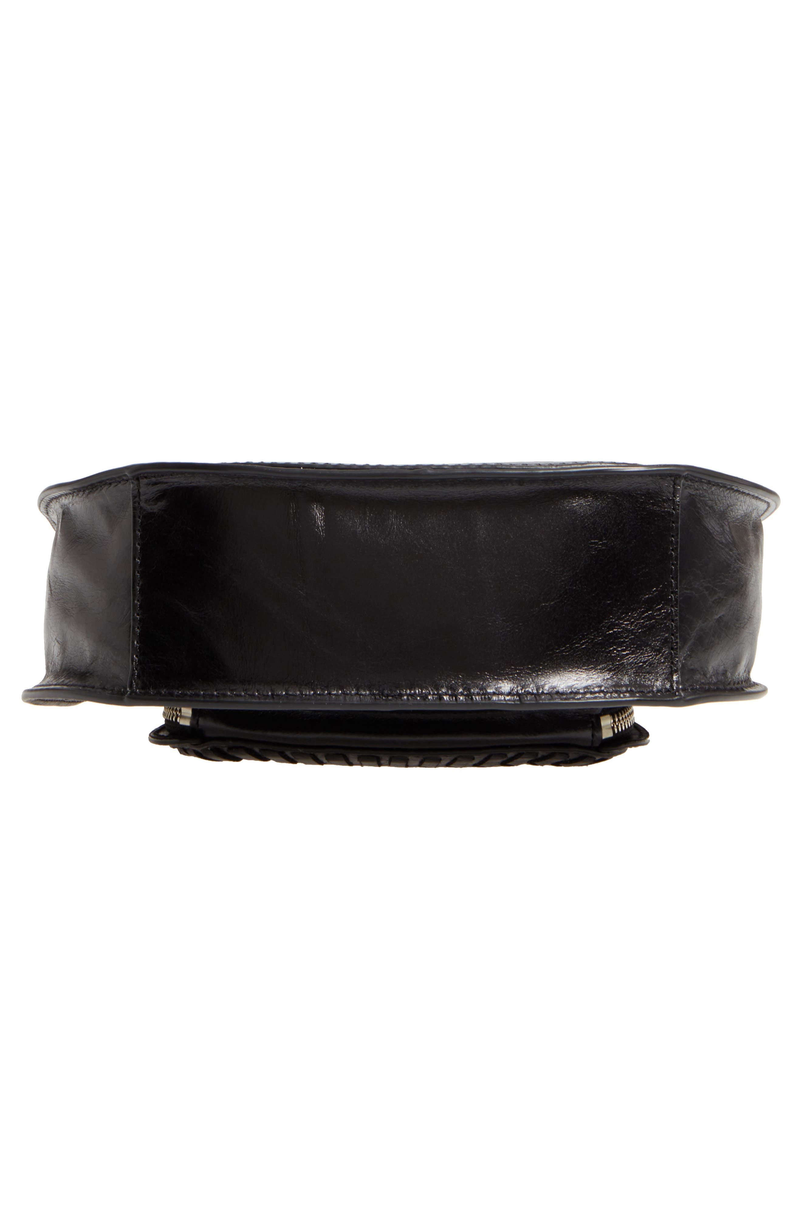 Alternate Image 6  - Rebecca Minkoff Mini Vanity Leather Saddle Bag