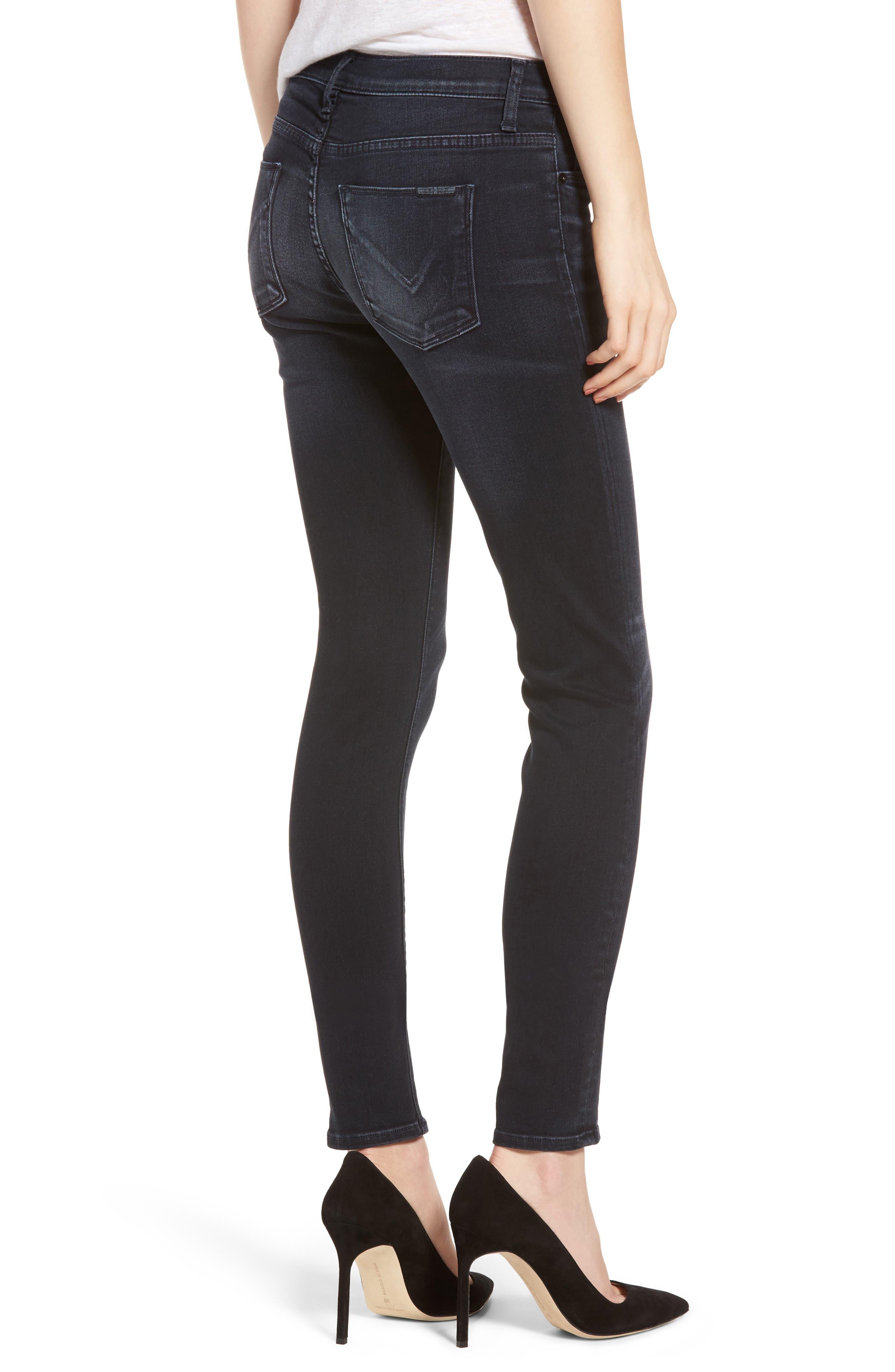 Alternate Image 2  - Hudson Jeans Nico Super Skinny Jeans (Soft Shock)