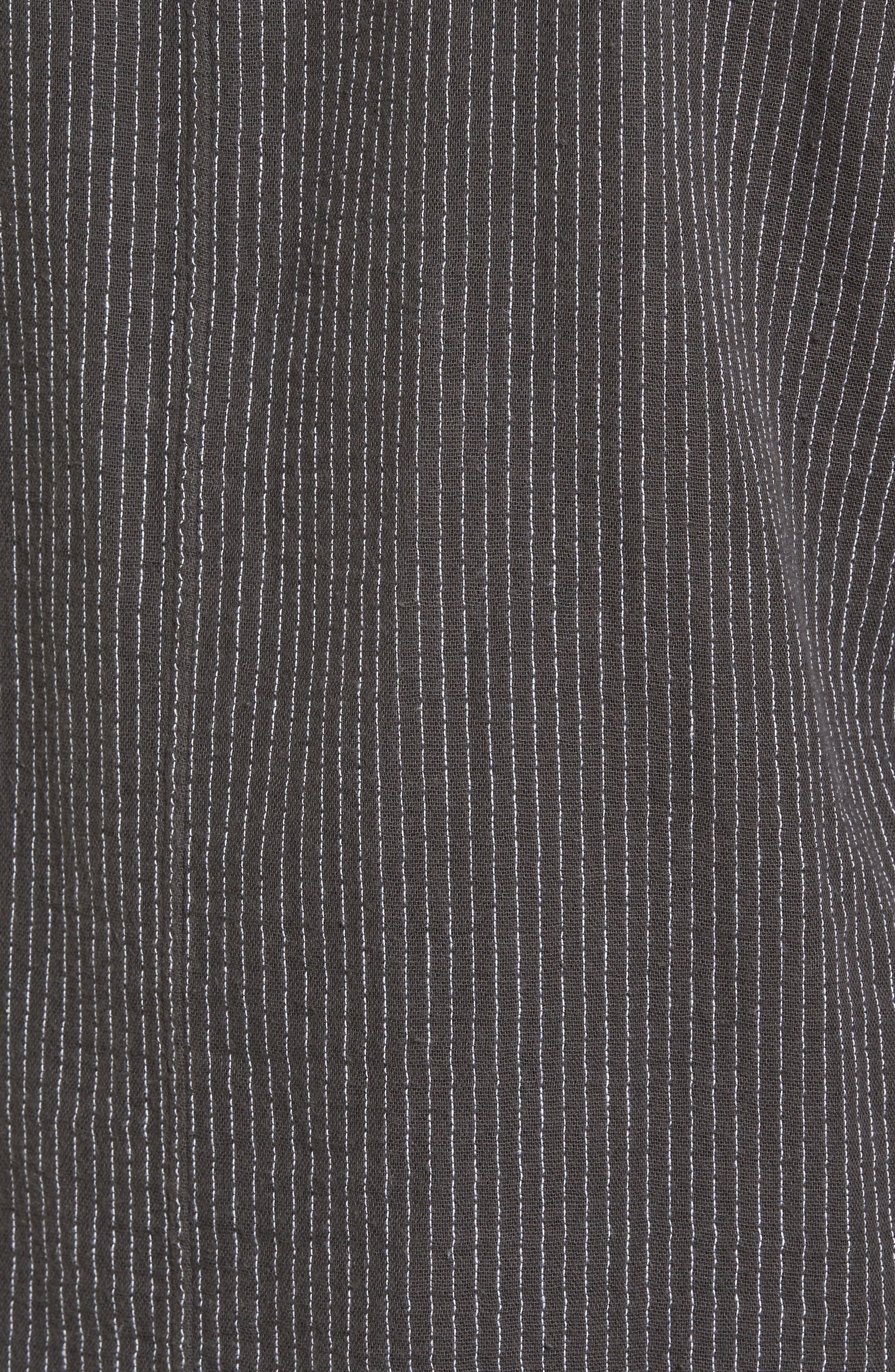 Alternate Image 5  - Eileen Fisher Reversible Organic Cotton Jacket