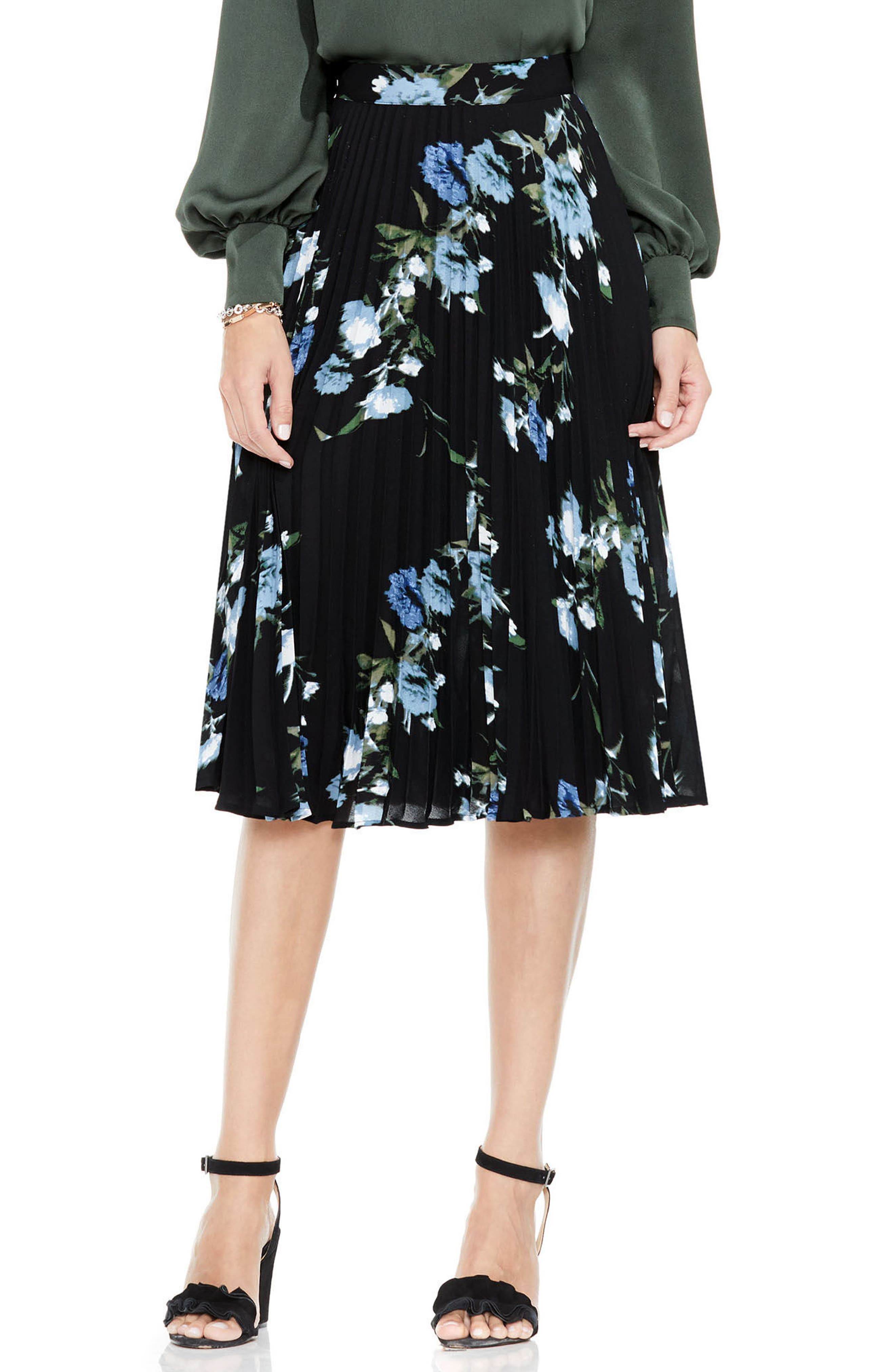 Vince Camuto Windswept Bouquet Skirt
