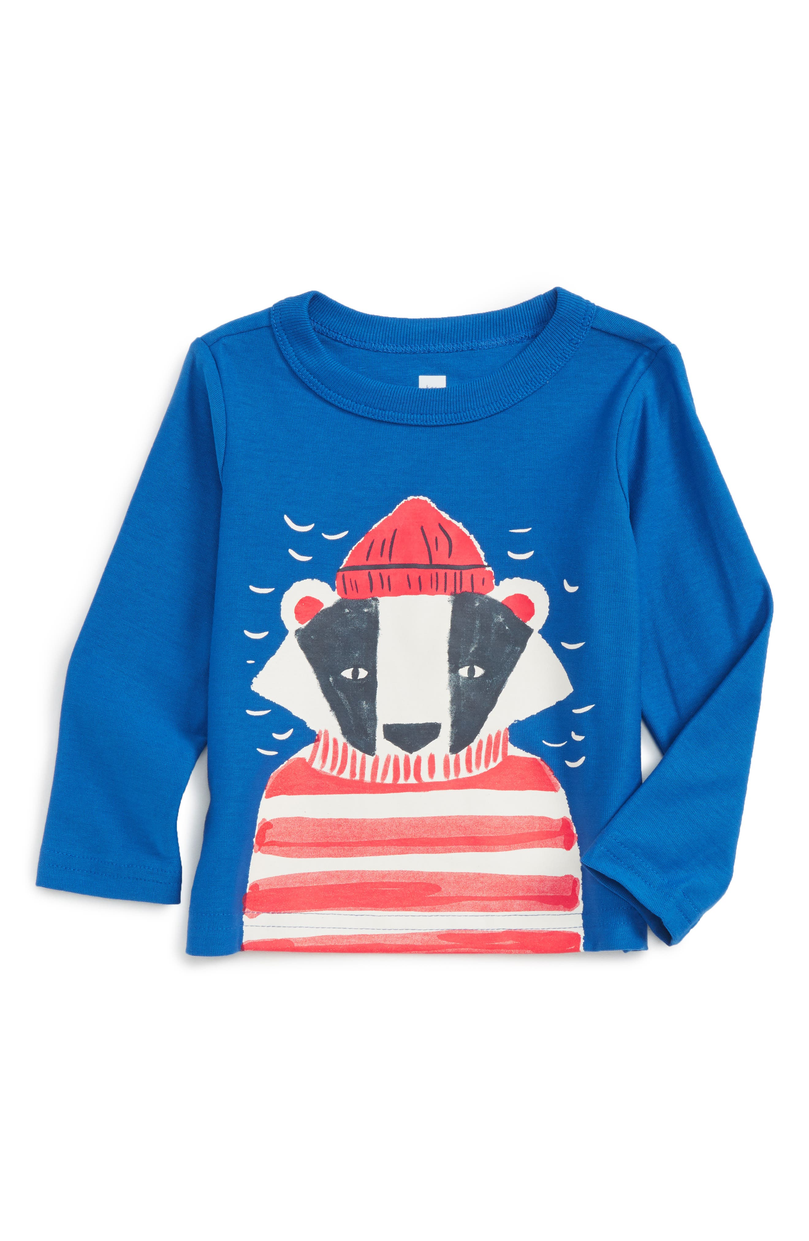 Tea Collection Salty Badger Graphic T-Shirt (Baby Boys)