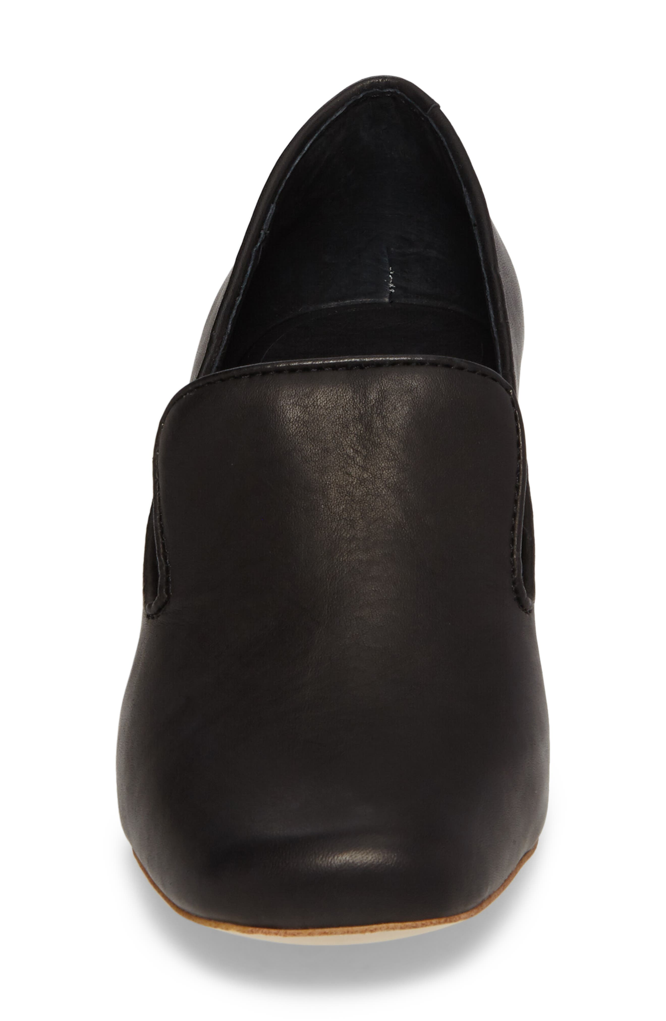 Alternate Image 4  - Jeffrey Campbell Lister Flared Heel Loafer Pump (Women)