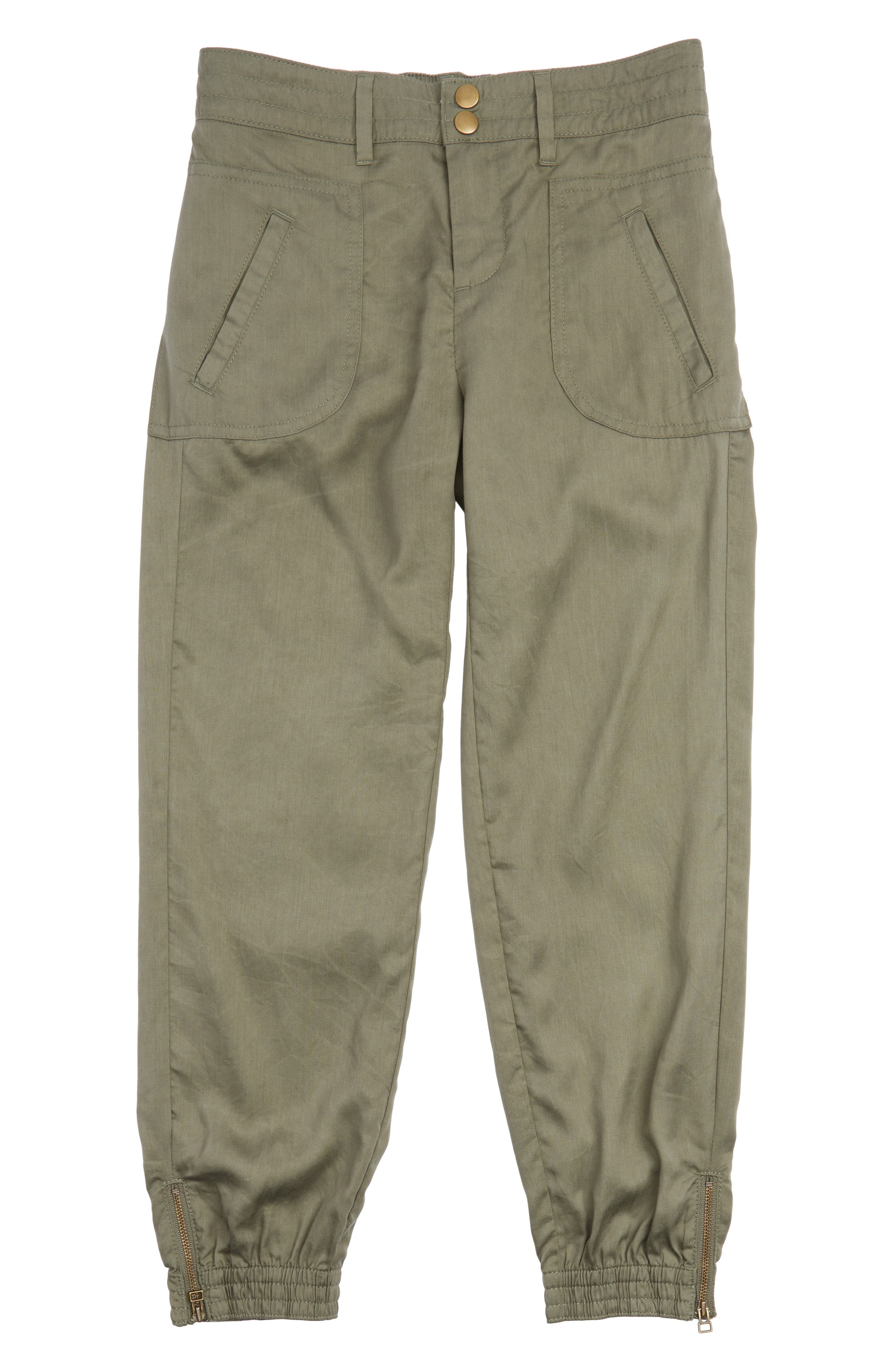 Treasure & Bond Woven Jogger Pants (Big Girls)