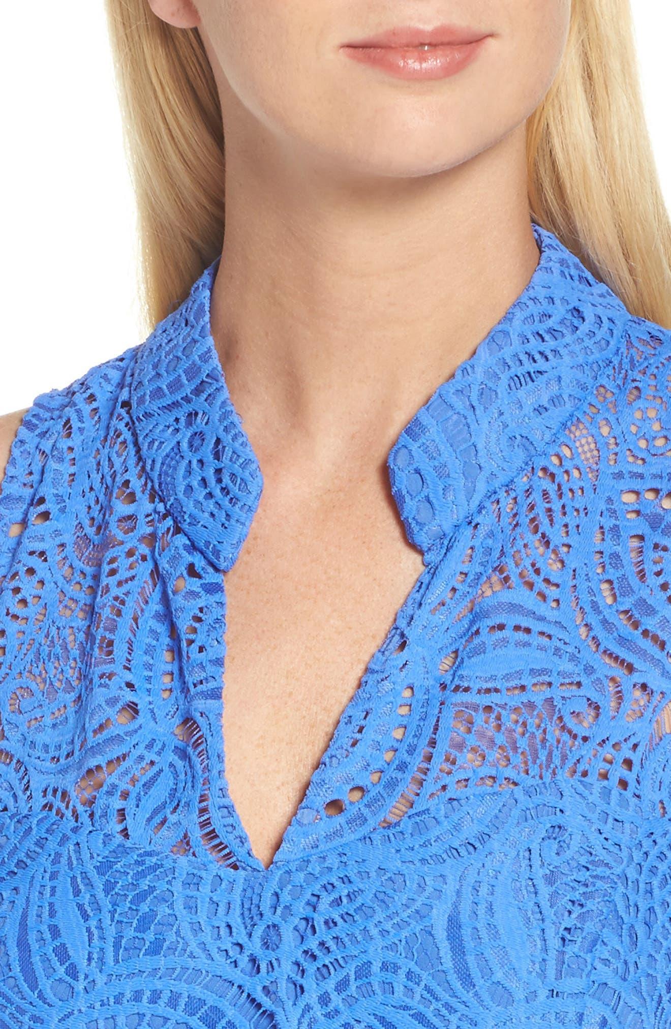 Alternate Image 4  - Lilly Pulitzer® Alexa Lace Sheath Dress