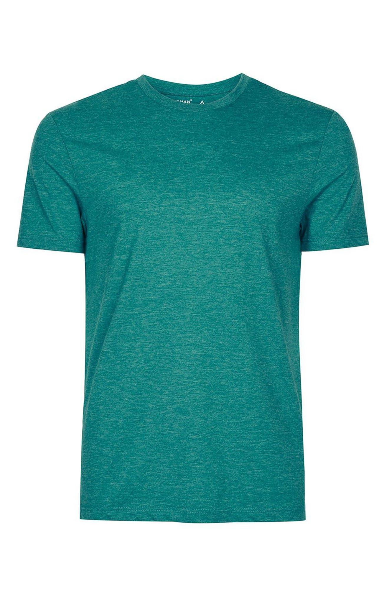 Alternate Image 4  - Topman Slim Fit Crewneck T-Shirt