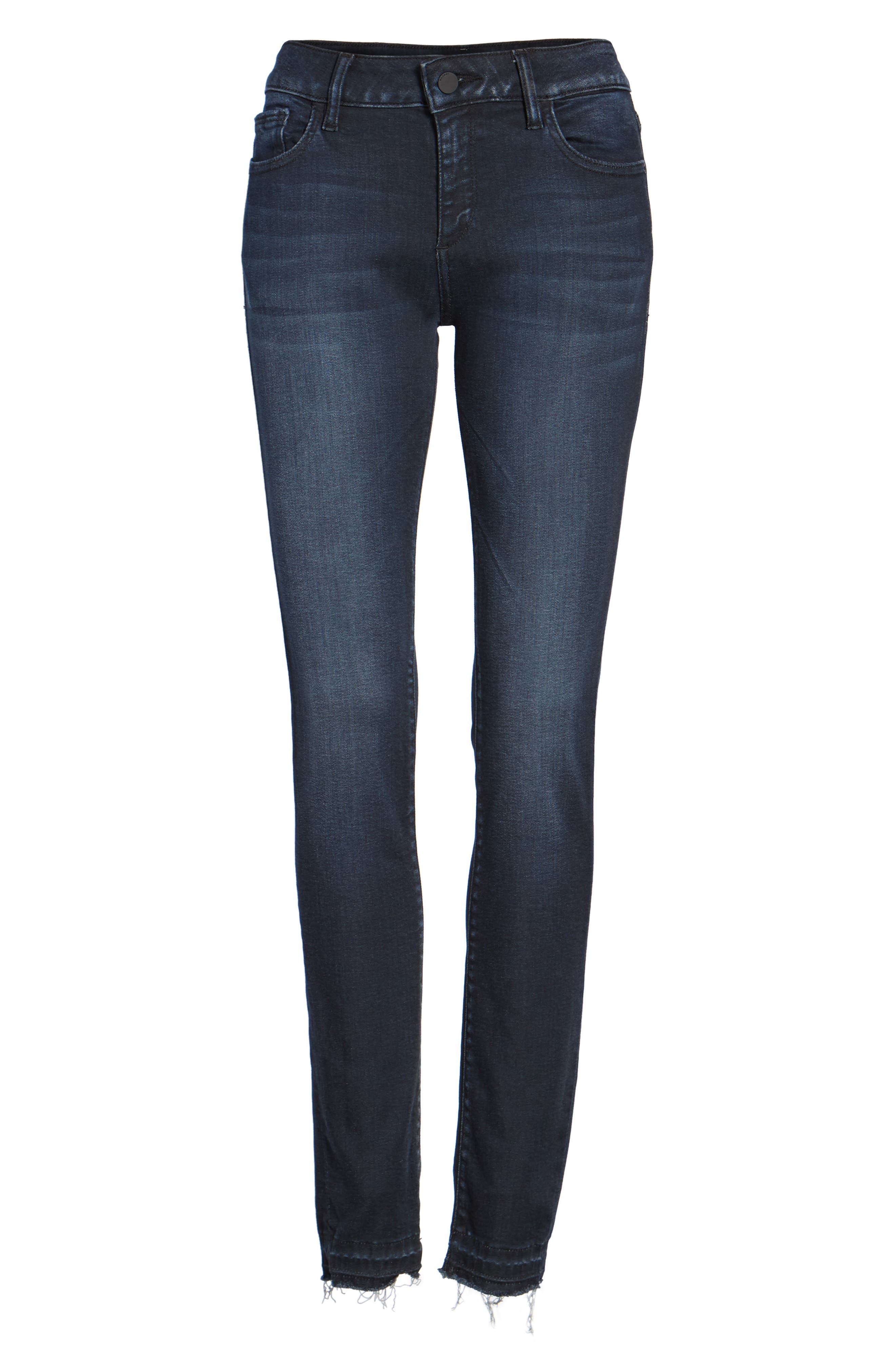 Florence Instasculpt Skinny Jeans,                             Alternate thumbnail 6, color,                             Sloan