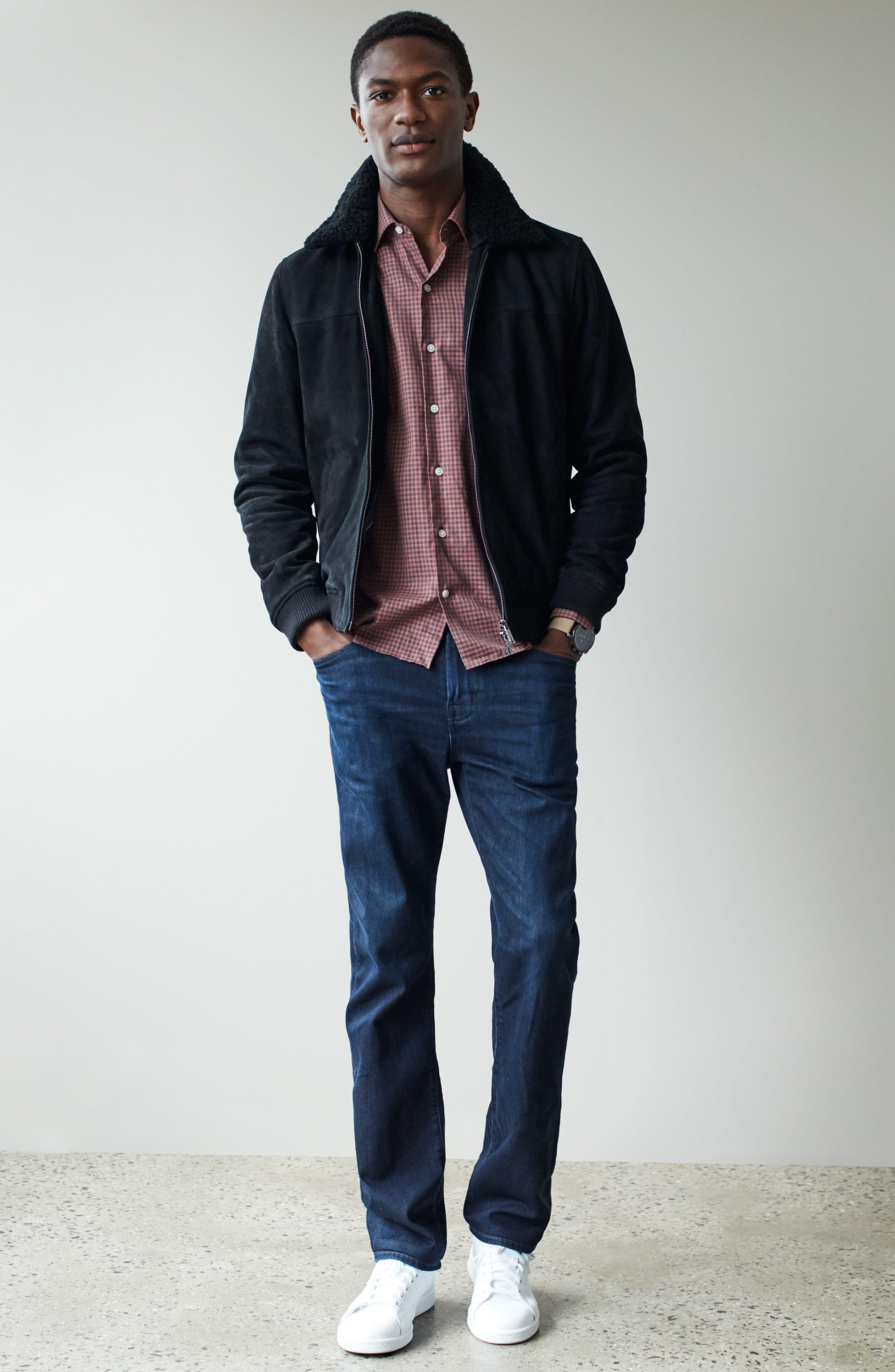 Alternate Image 7  - AG Everett Slim Straight Fit Jeans (Regulator)