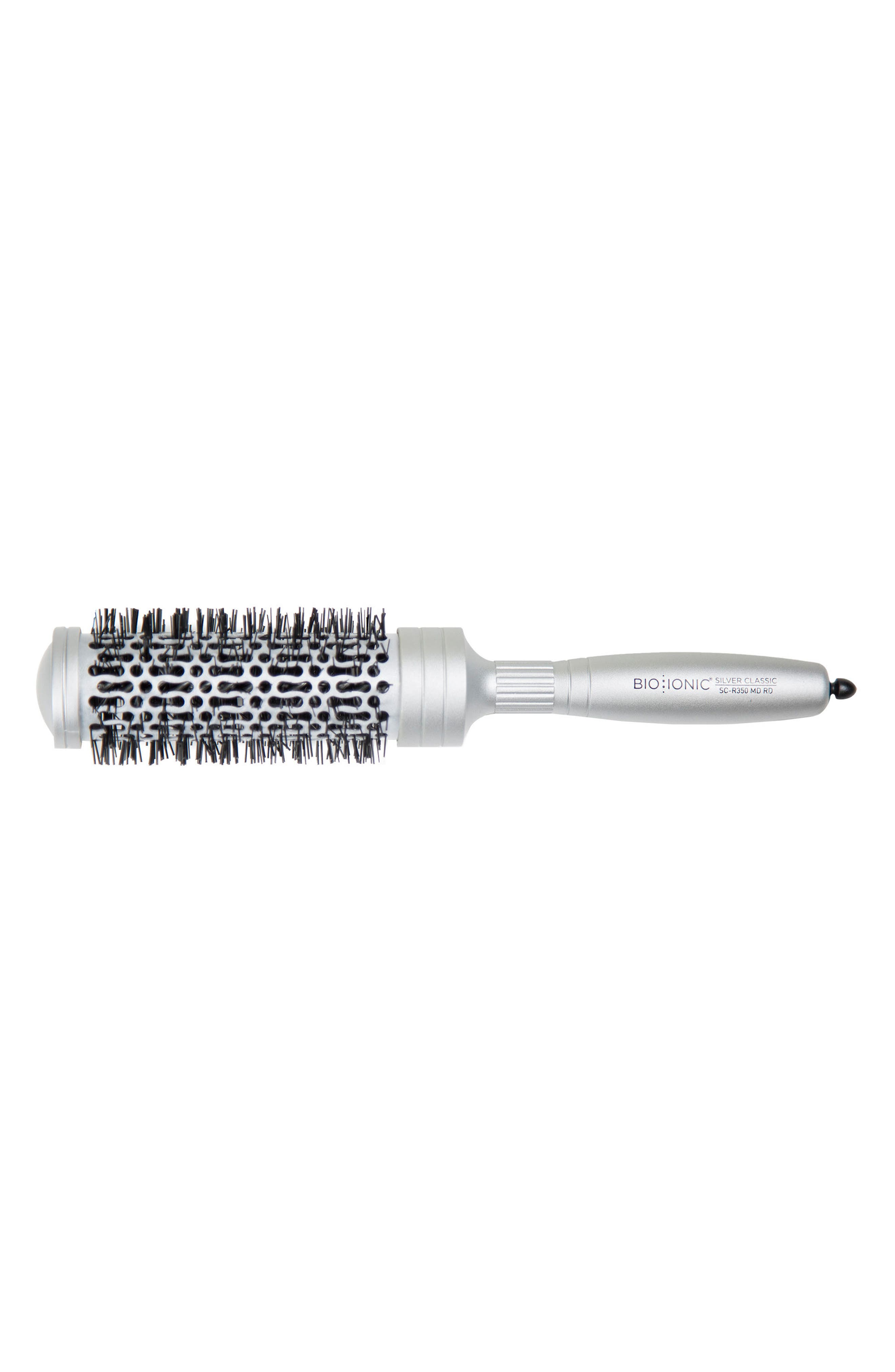 'SilverClassic' Medium Round Brush,                         Main,                         color, No Color