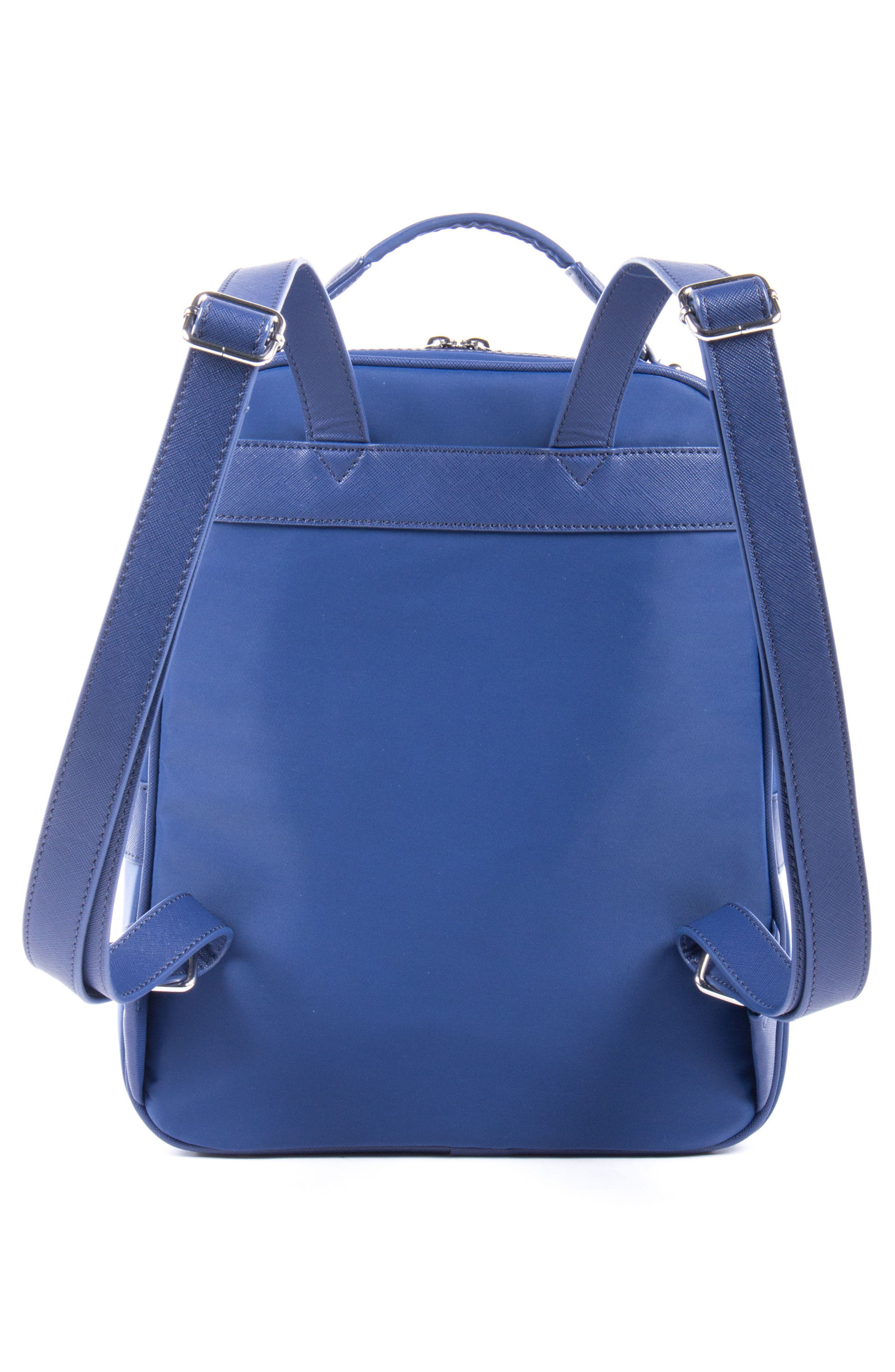 Céline Dion Presto Nylon Backpack,                             Alternate thumbnail 2, color,                             Blue