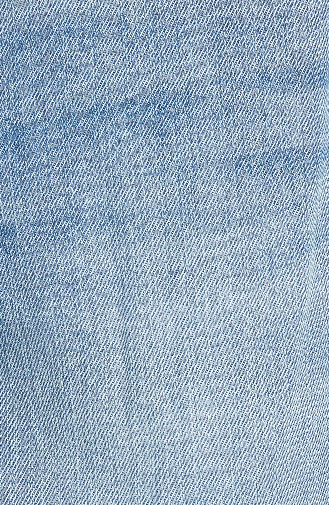 Alternate Image 5  - Tory Burch Betsy Straight Leg Jeans (Dusk Blue)