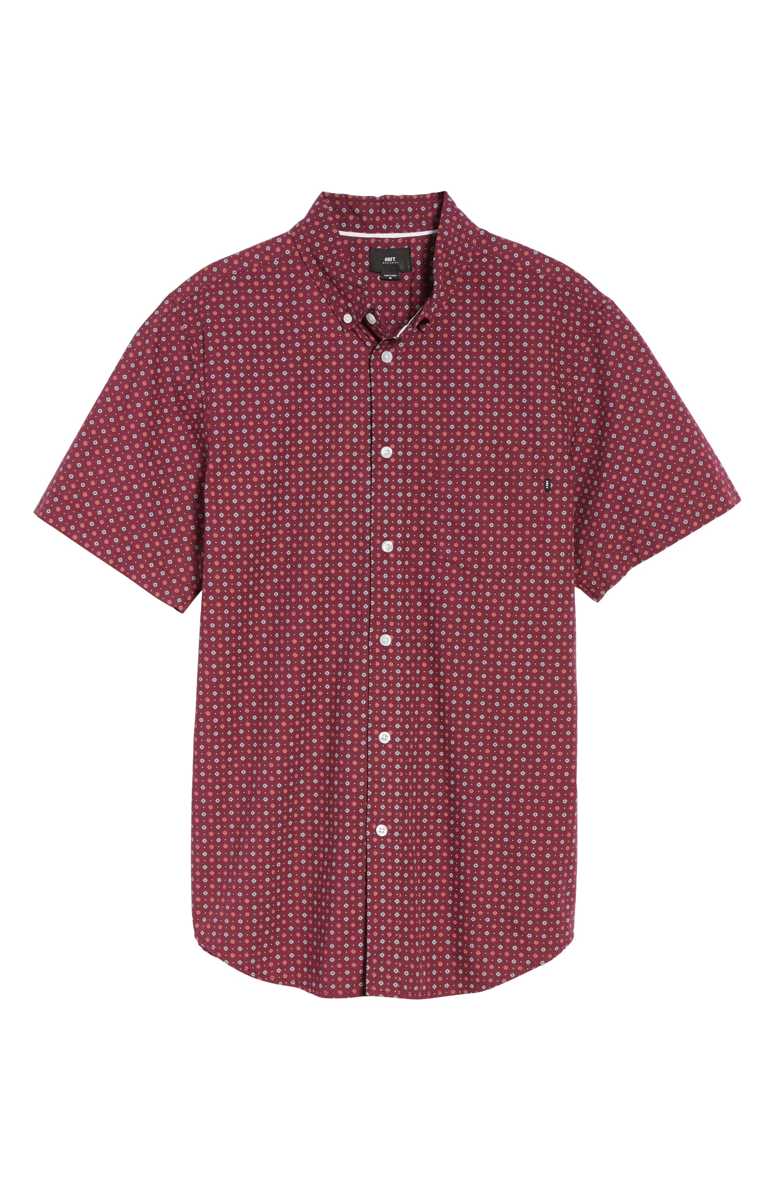 Alternate Image 6  - Obey Sterling Woven Shirt