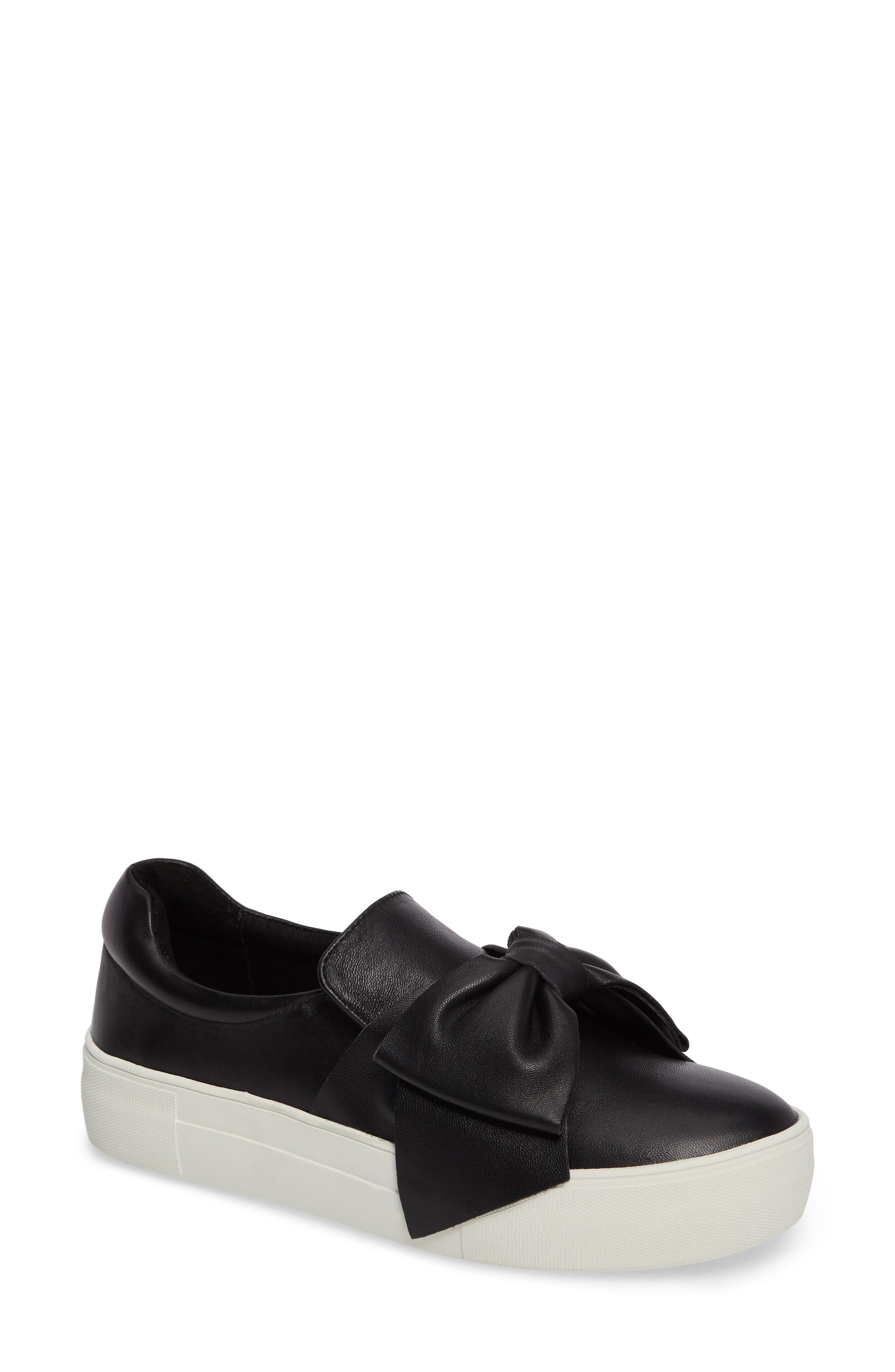 Empire Slip-On,                             Main thumbnail 1, color,                             Black Leather