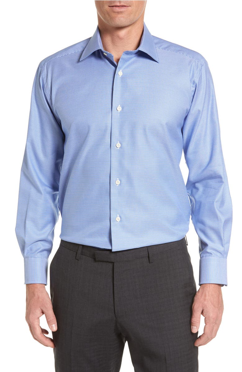 Nordstrom Men's Shop Traditional Fit Non-Iron Short Sleeve ...  From Dress Shirts Nordstrom