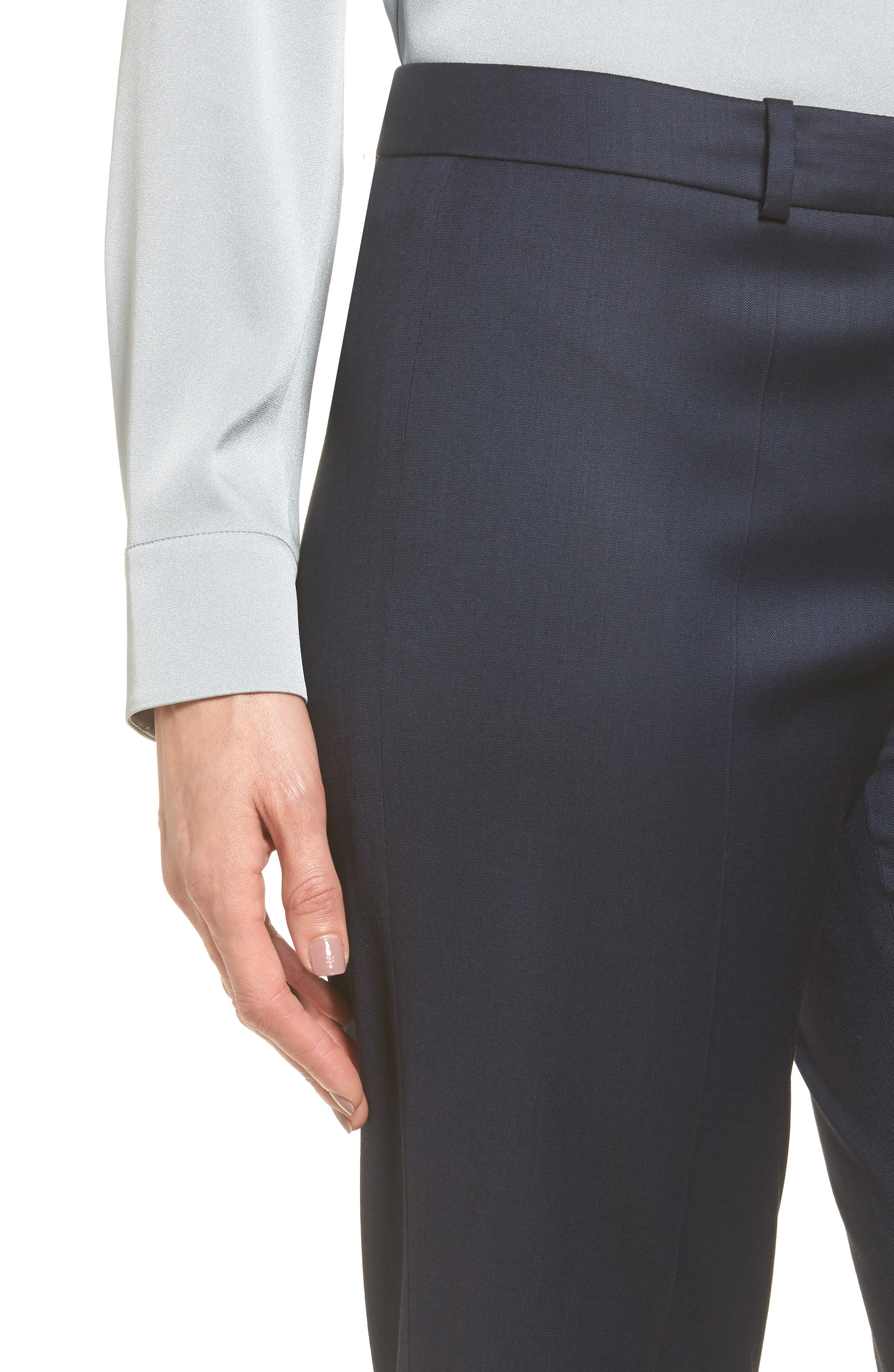 Alternate Image 5  - BOSS Stretch Wool Blend Suit Trousers
